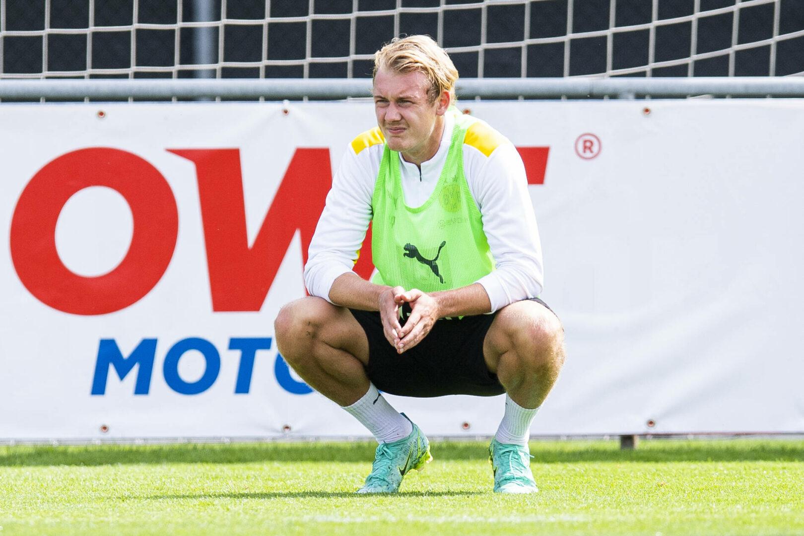 """Brandt bleibt beim BVB: """"Glaube nicht, dass ich woanders spielen werde"""""""