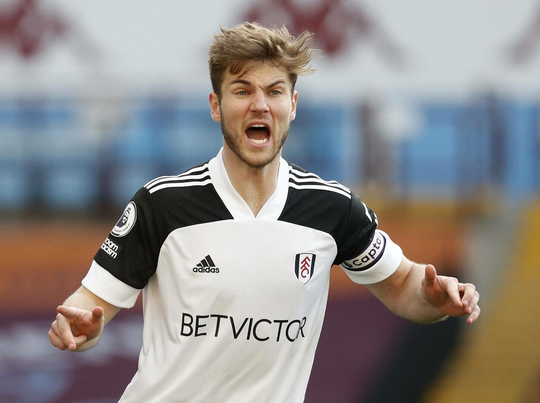 Joachim Andersen (Fulham) jubelt