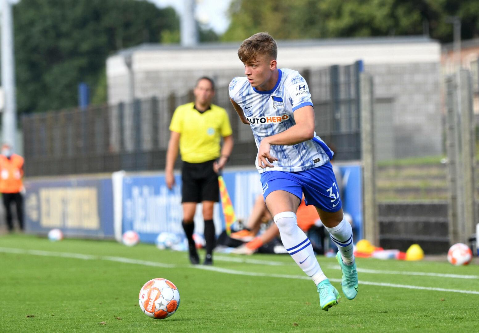 Bestätigt: Hertha-Talent Luca Netz wechselt nach Gladbach