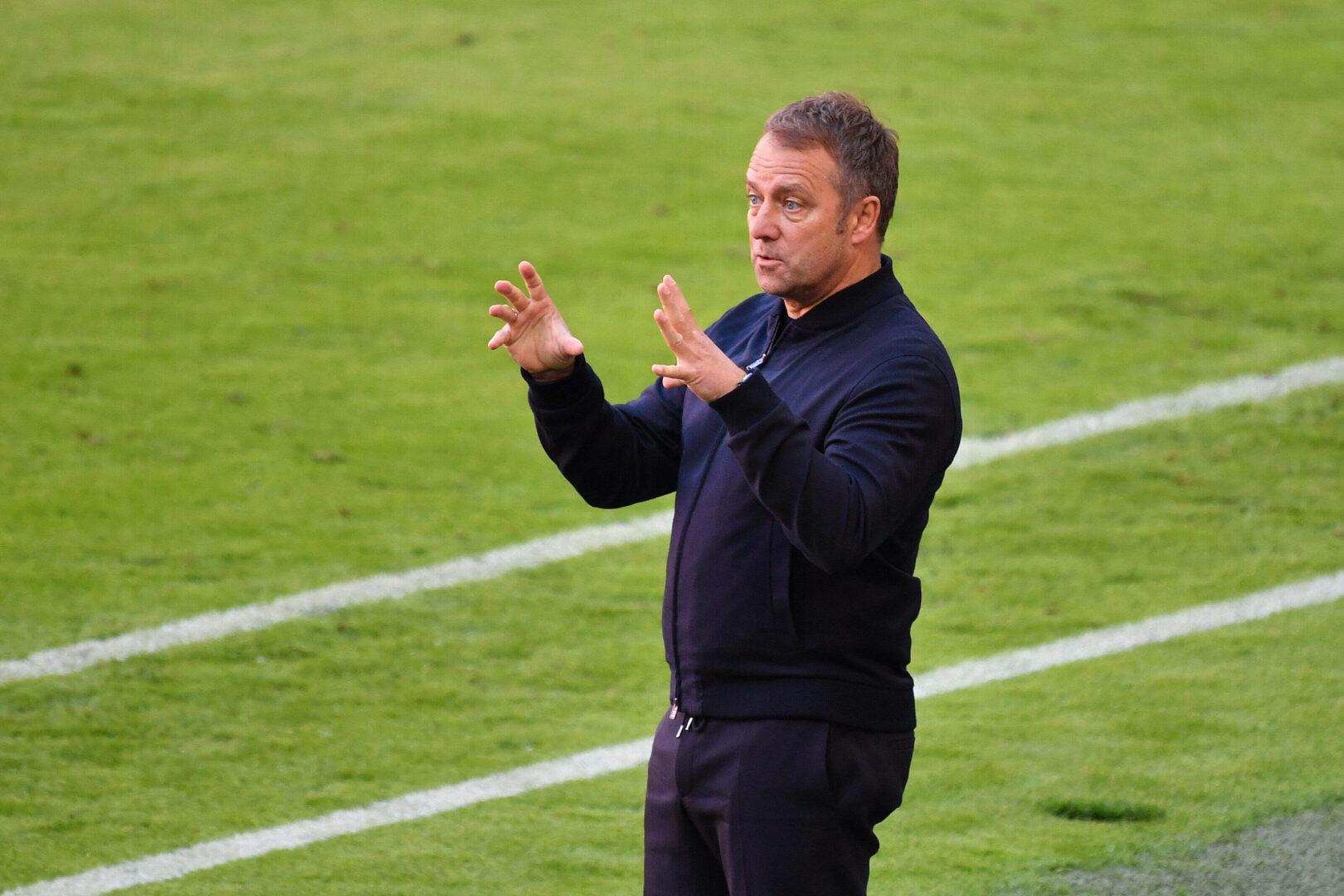 Vertrag gilt ab heute: Hansi Flick stellt sich als Nationaltrainer vor