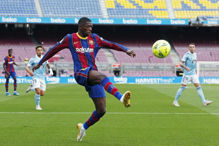 FC Barcelona: Ousmane Dembele unmittelbar vor Vertragsverlängerung!