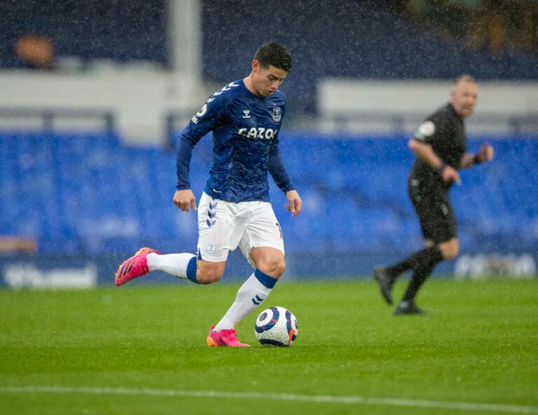 James Rodriguez: Everton würde Offensivspieler abgeben