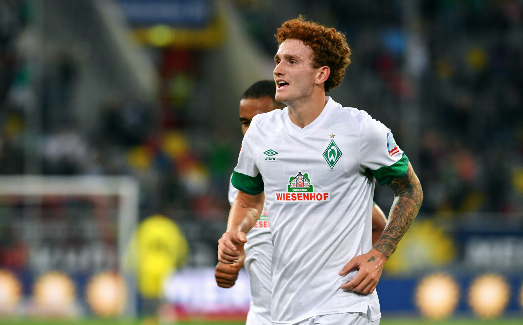 Sargent (Werder Bremen) jubelt