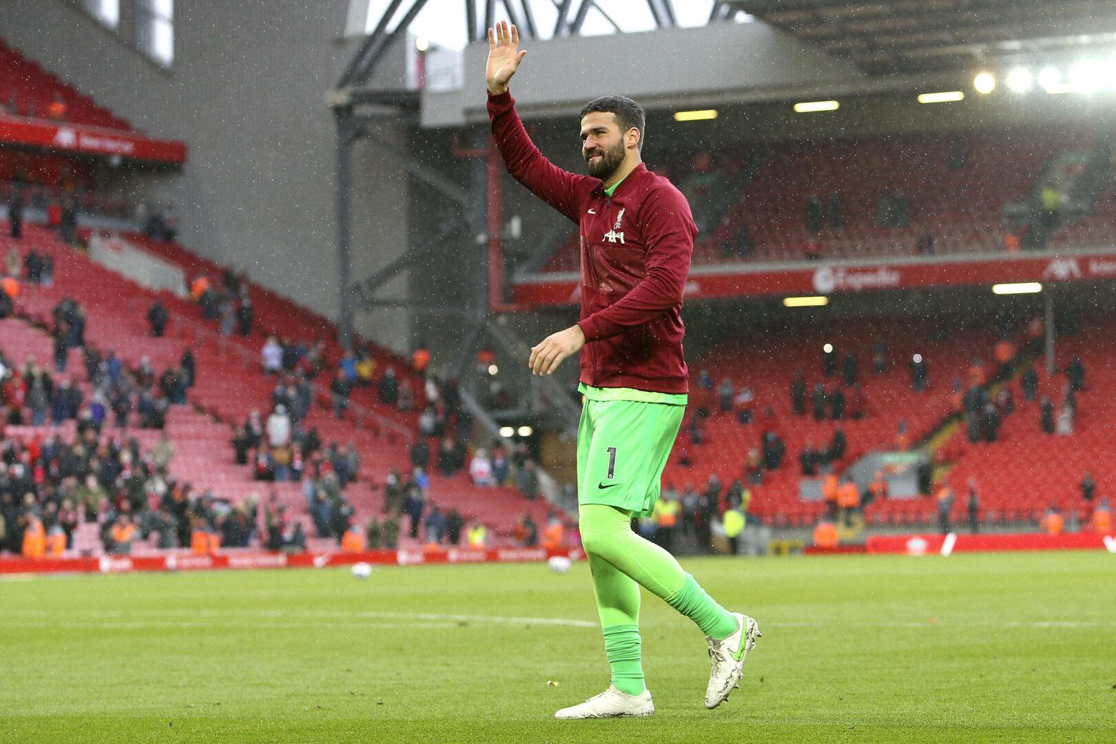 Alisson Becker verlängert langfristig bei Liverpool