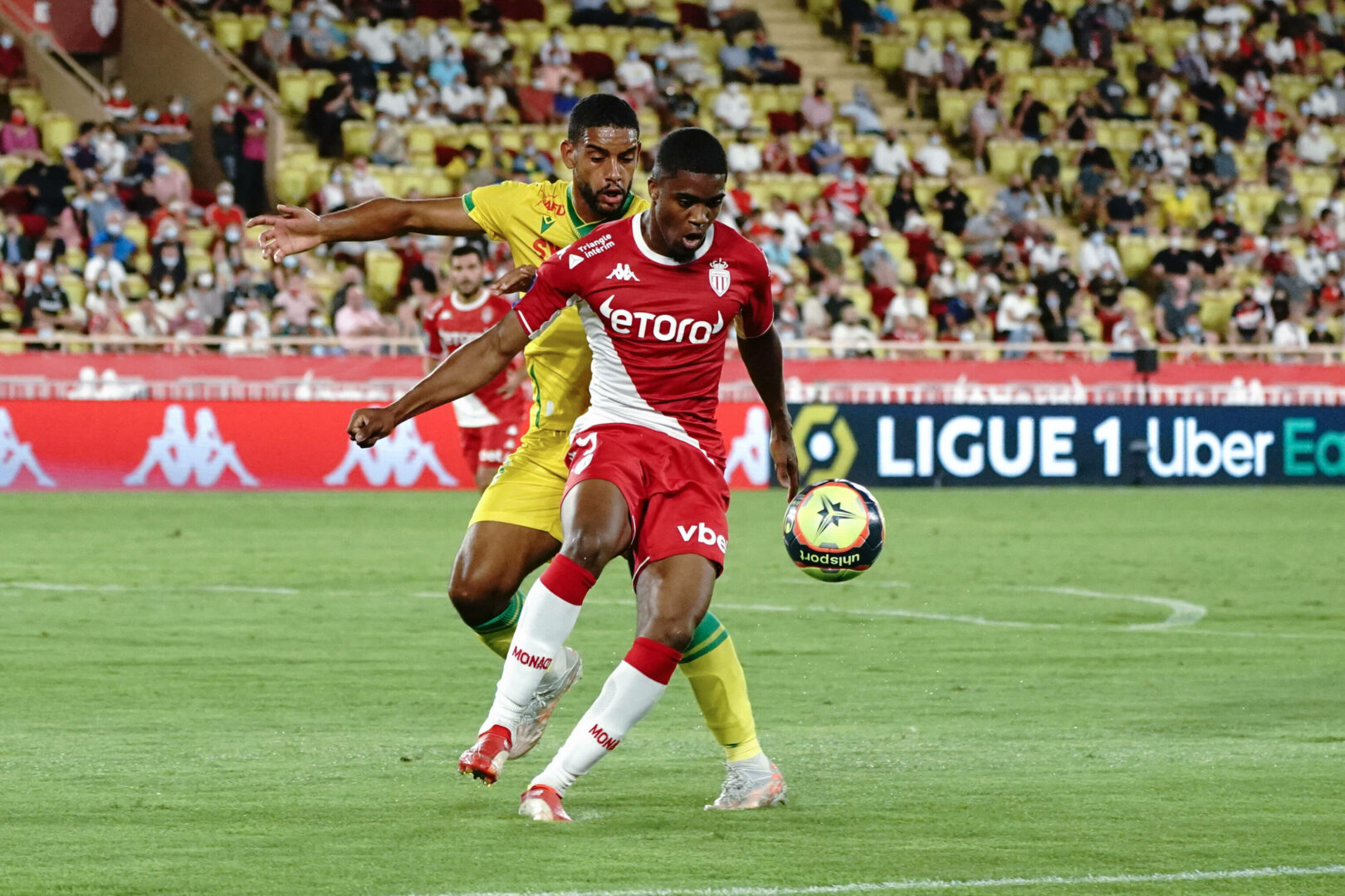 Monaco Nantes Ligue 1