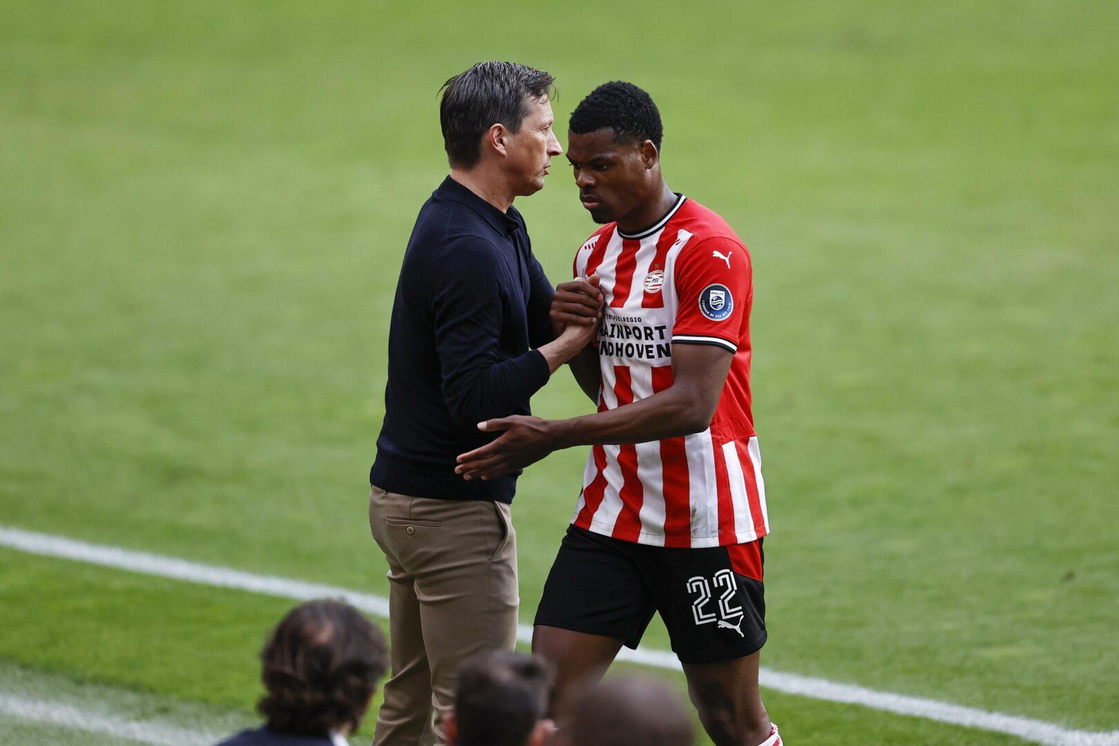 Inter   Denzel Dumfries soll aus Eindhoven kommen