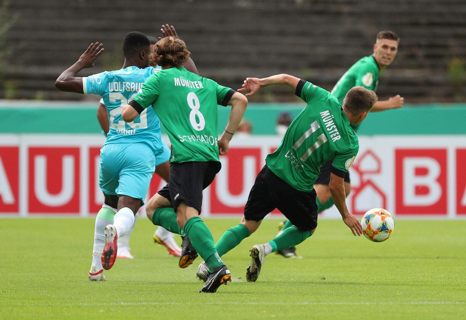 Wechselfehler des VfL Wolfsburg: Preußen Münster legt Protest ein