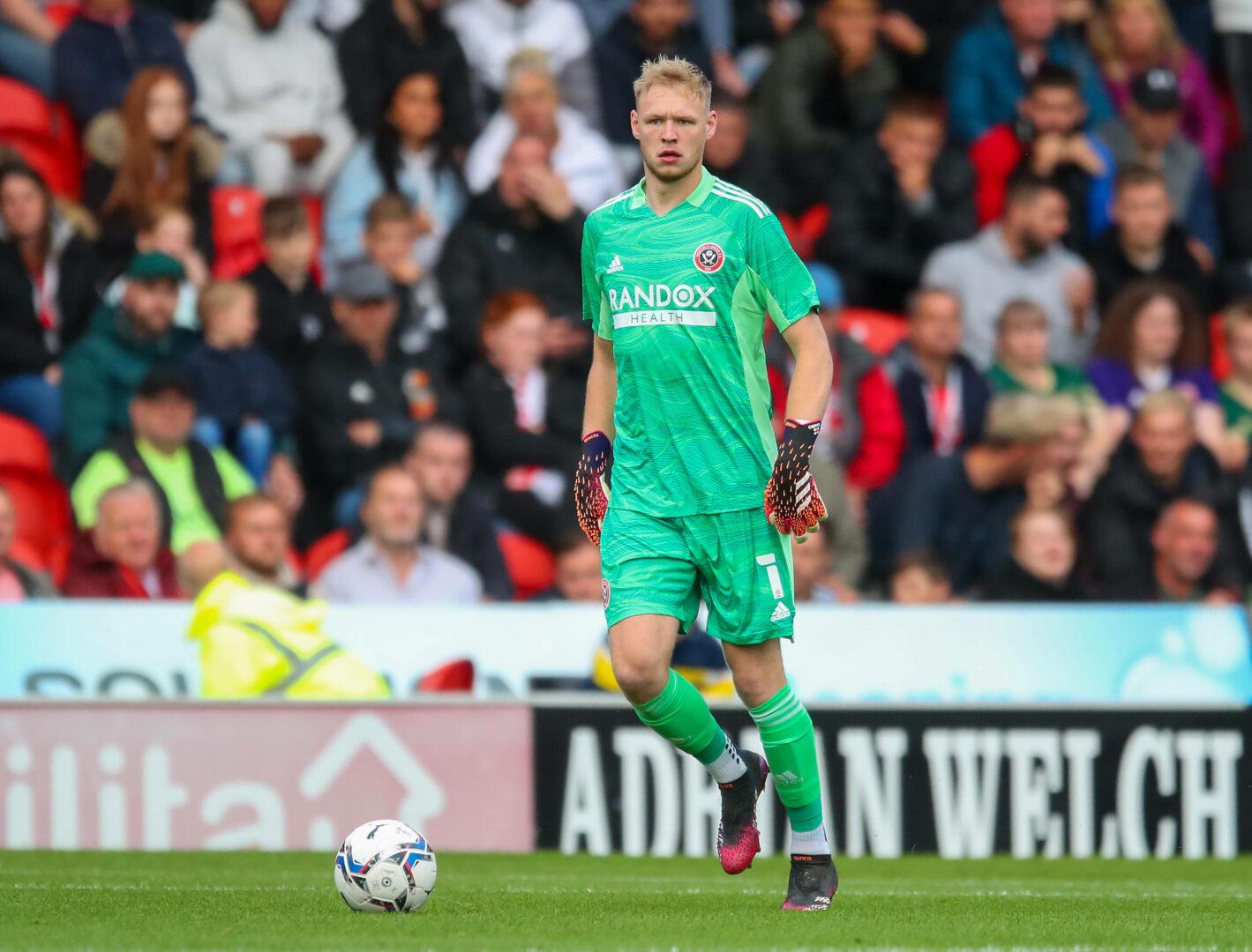 Arsenal | Sheffields Torhüter Aaron Ramsdale soll als kommen