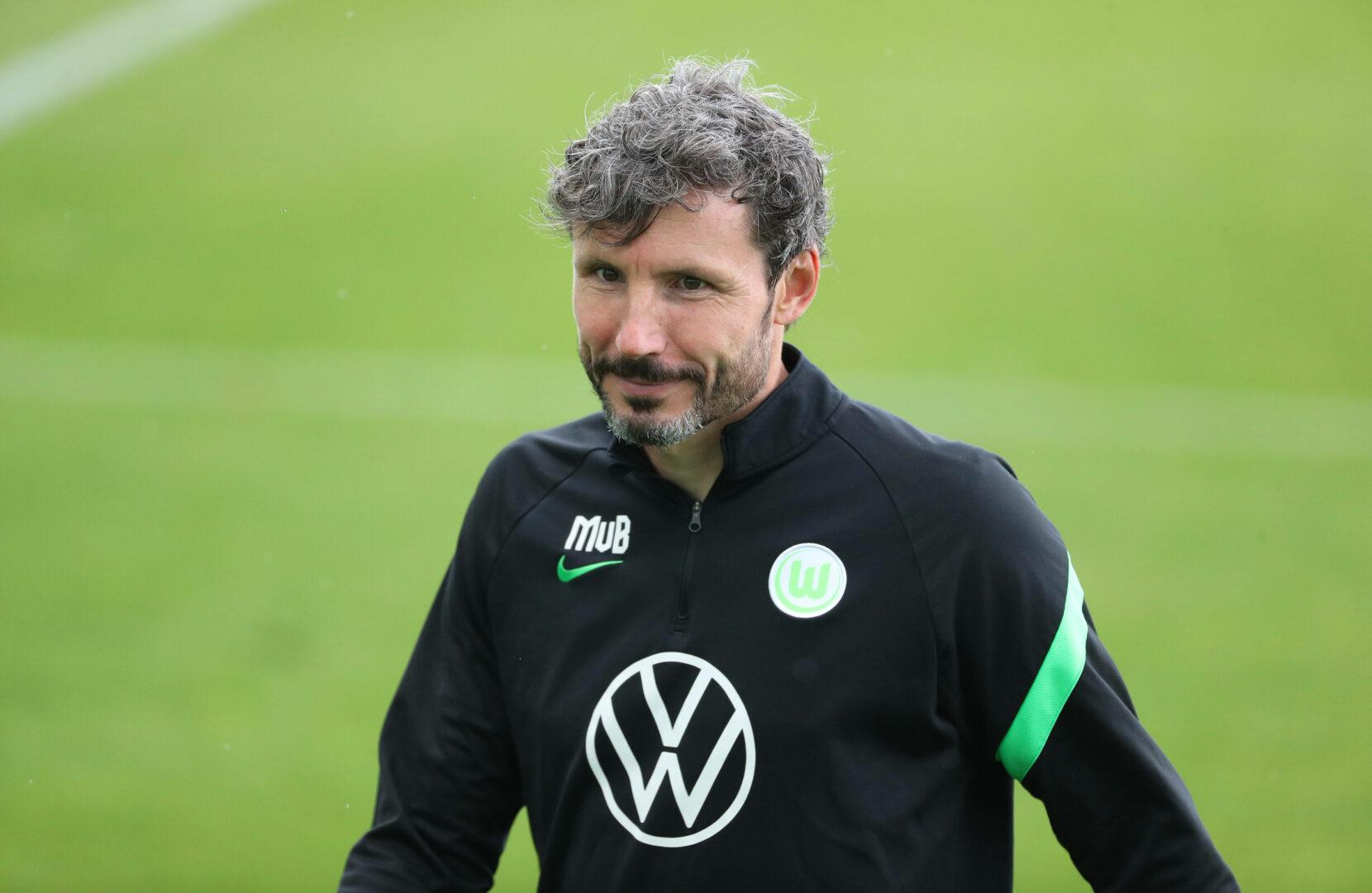 Mark van Bommel (Wolfsburg) im Training