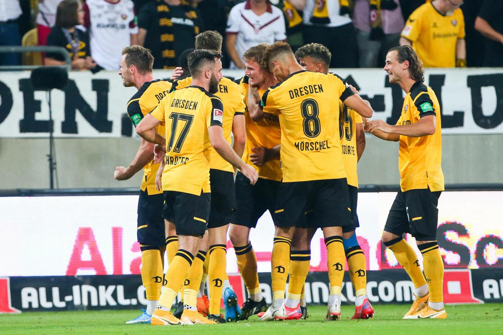 Heimstärke bestätigt: Dresden schlägt Hannover