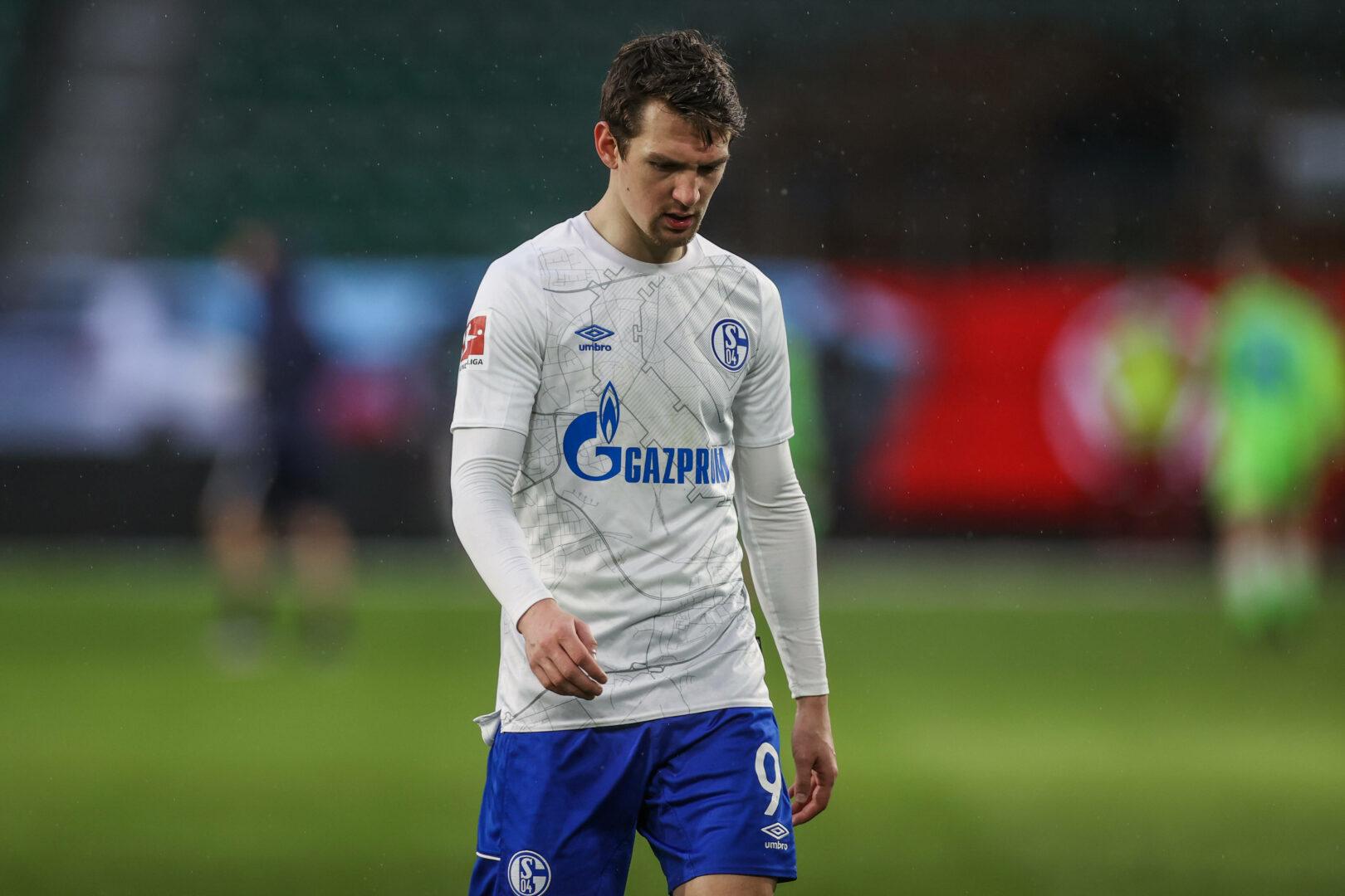 Benito Raman (Schalke 04) enttäuscht