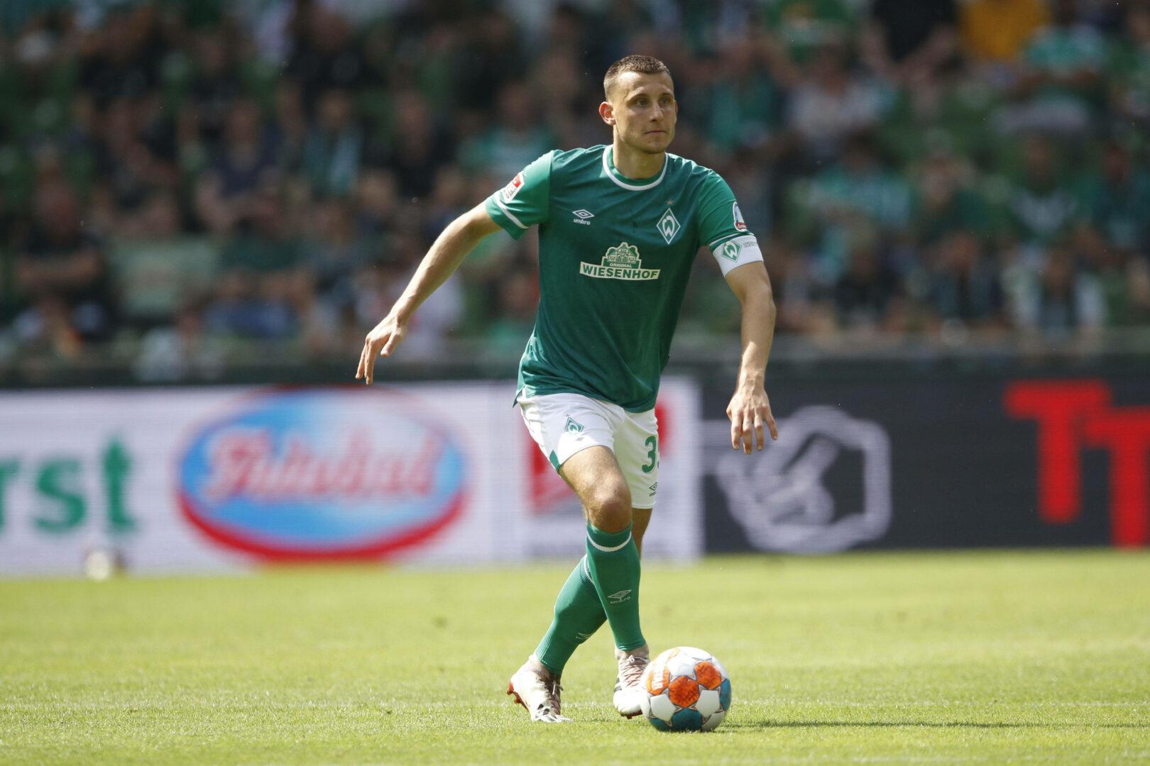 Maximilian Eggestein, hier im Trikot des SV Werder Bremen