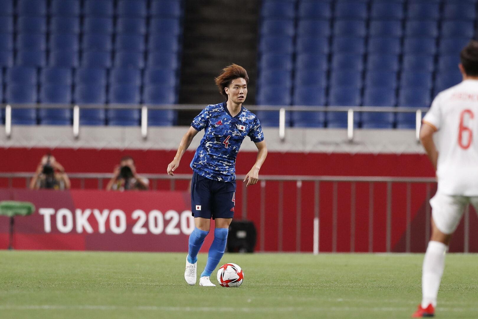 Ko Itakura hier im Trikot der japanischen Auswahl bei den Olympischen Spielen.