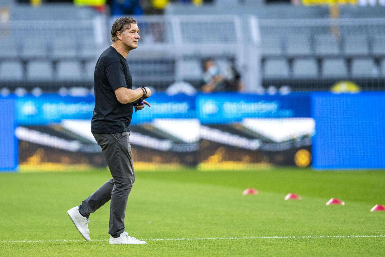 """BVB-Sportdirektor Zorc: """"Gibt größere Titel, aber wenn wir hier spielen, wollen wir gewinnen"""""""