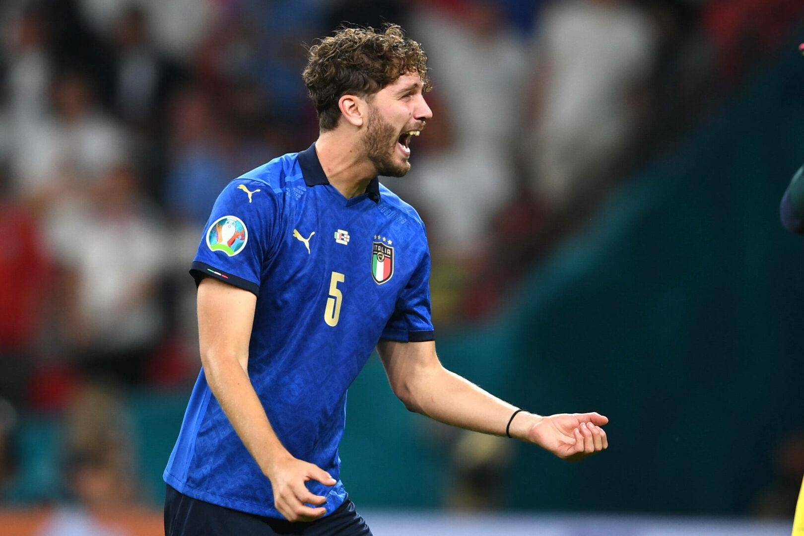 Manuel Locatelli im Dress der italienischen Nationalmannschaft