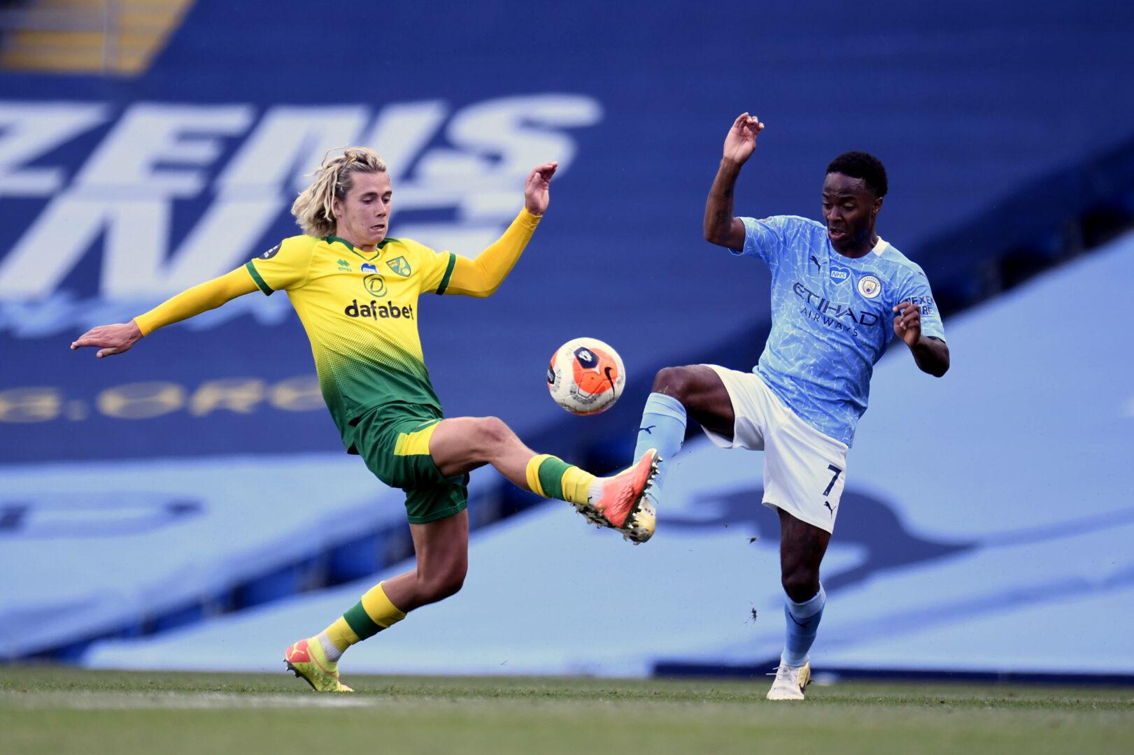 Manchester City und Norwich City duellierten sich zuletzt am 26.07.2020. Damals siegte der Favorit mit 5:0.