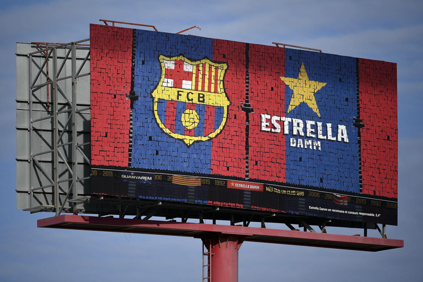 Das Logo des FC Barcelona