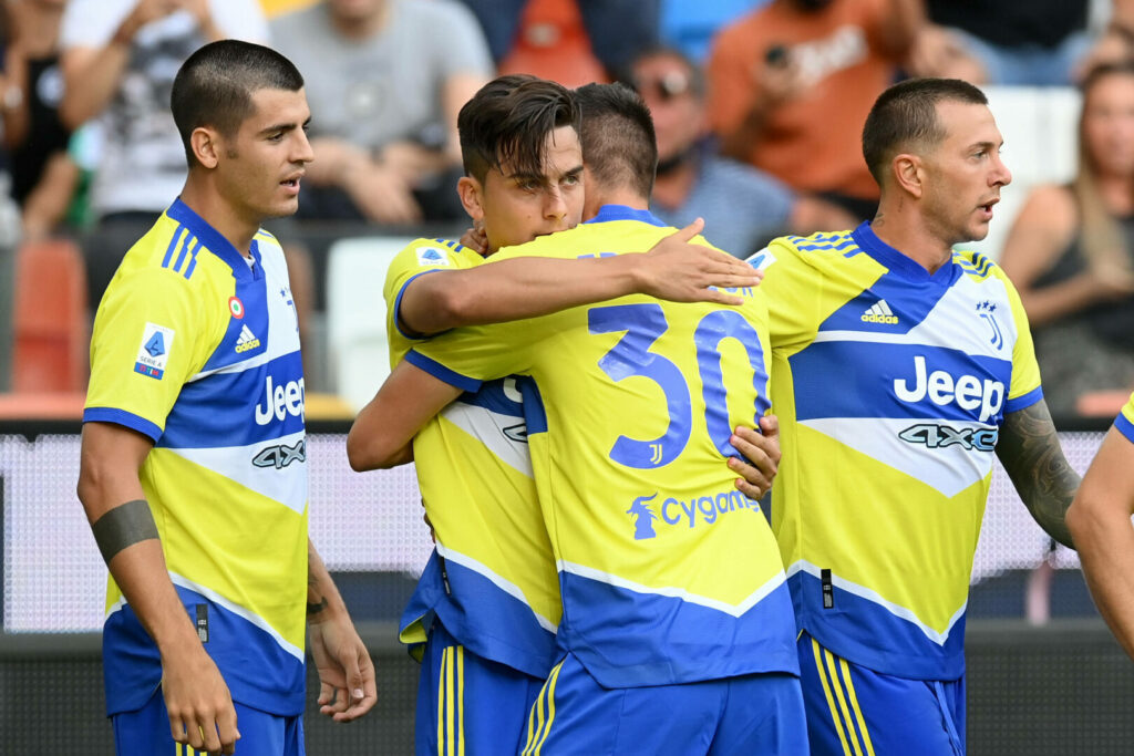 Juventus jubelt gegen Udinese