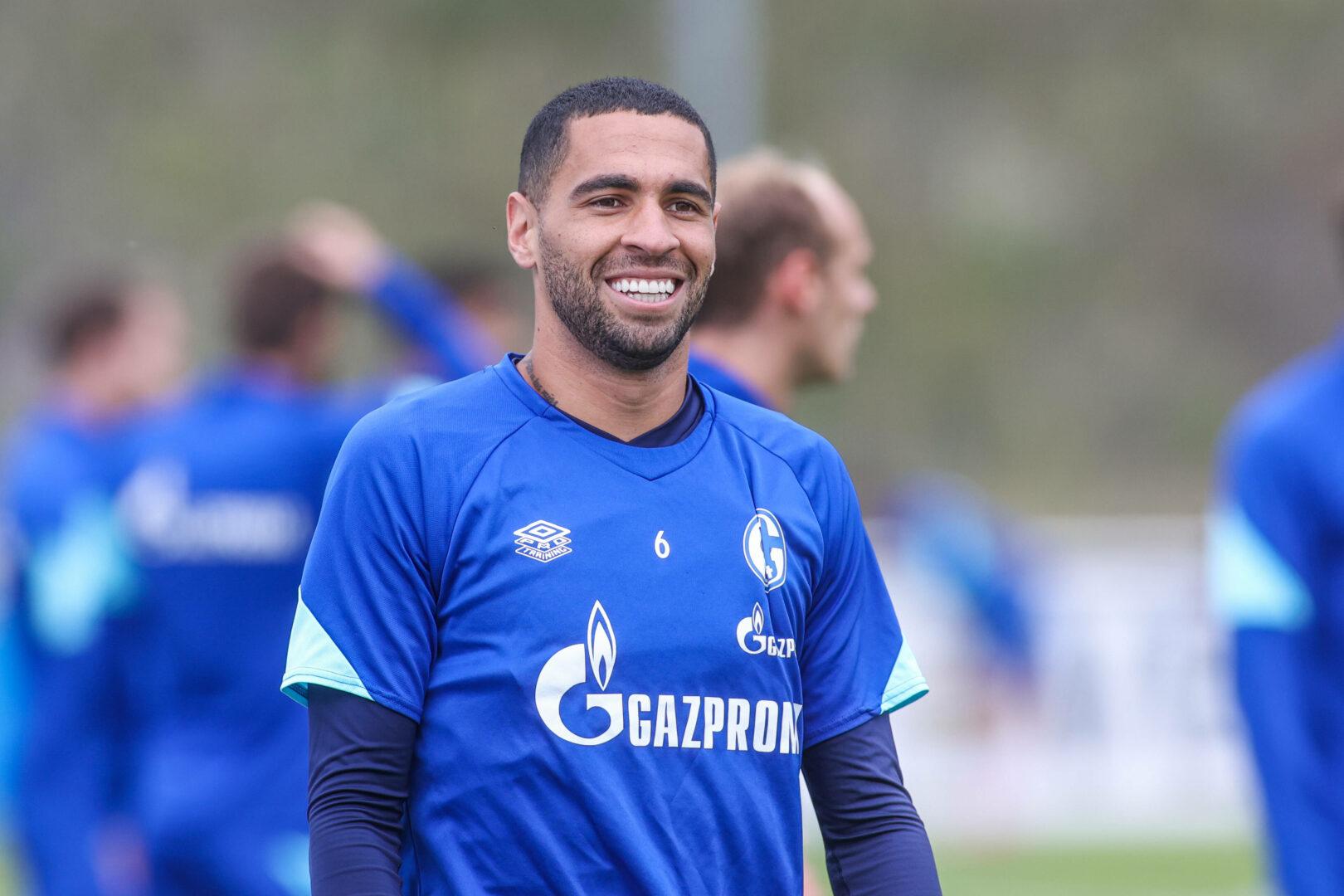 Omar Mascarell nahm fleißig an den Trainingseinheiten des FC Schalke 04 teil. Aus finanziellen Gründen wurde er in Pflichtspielen nicht eingesetzt.