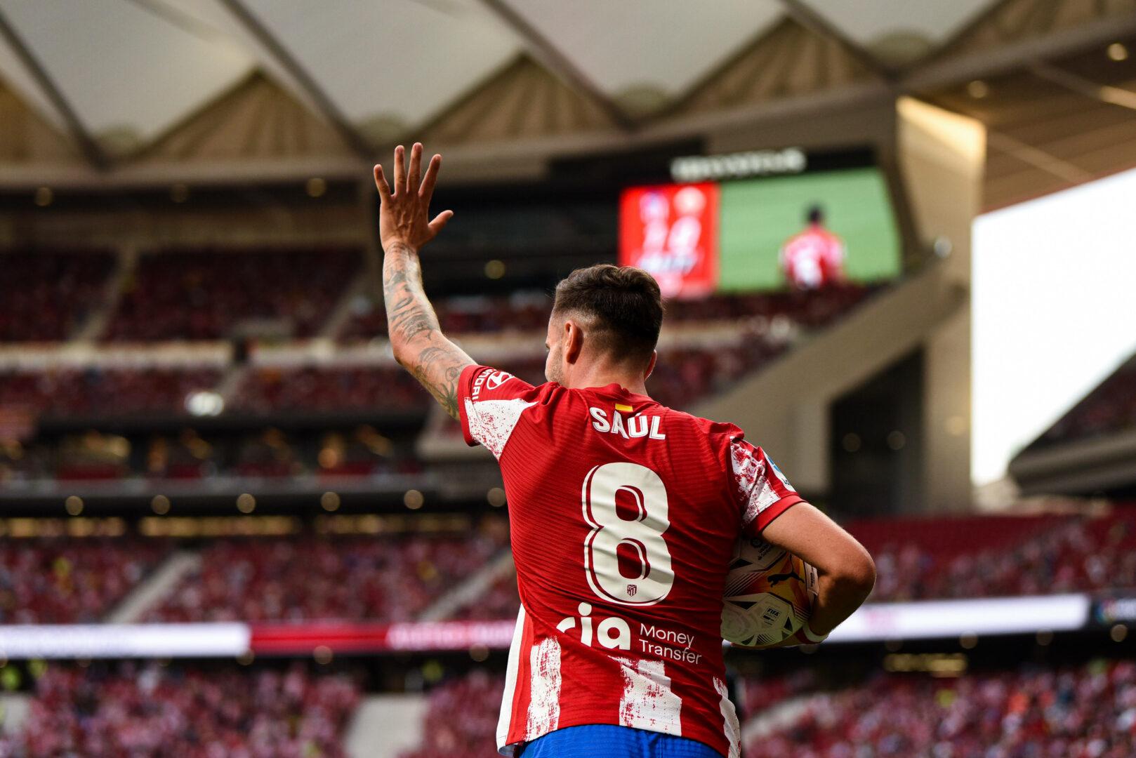 Saul Niguez von Atletico Madrid