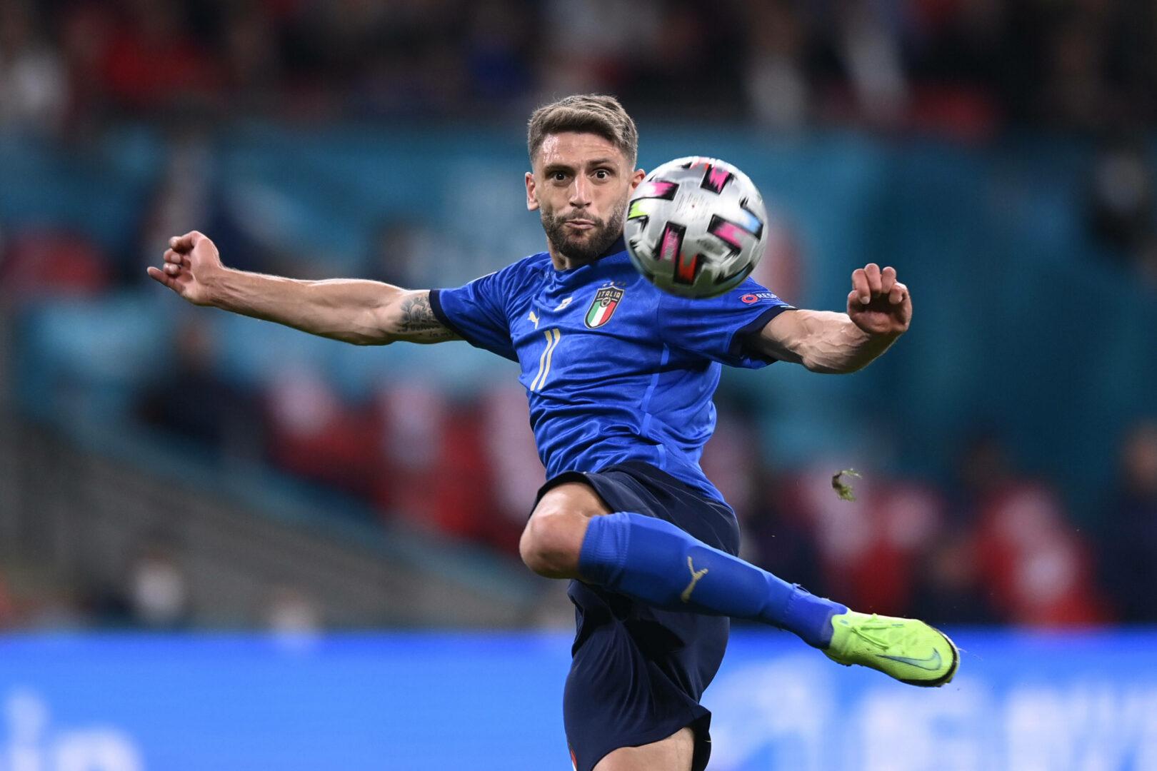 Domenico Berardi kam im EM-Finale für Italien zum Einsatz.