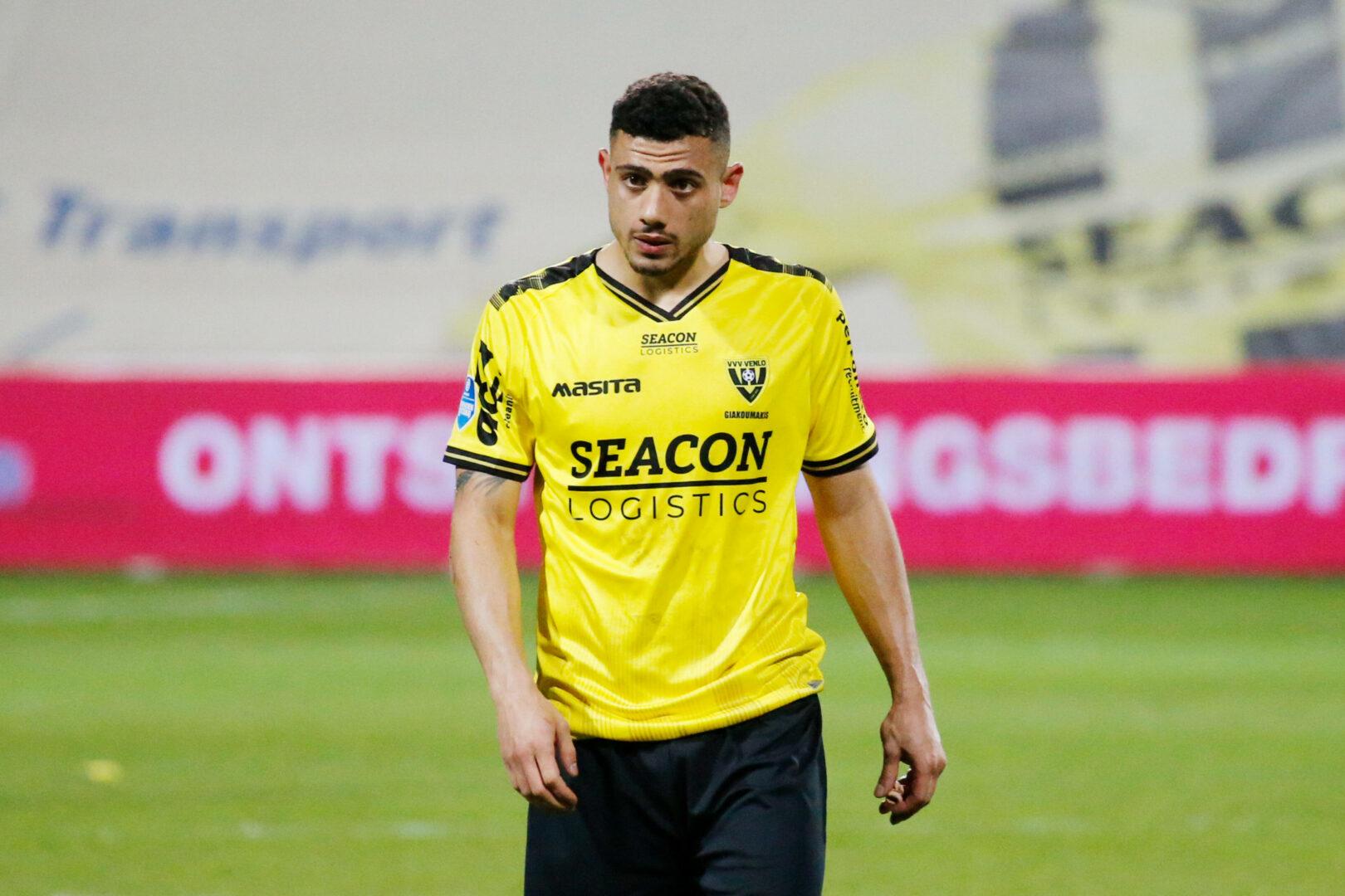 Georgios Giakoumakis machte in der letzten Saison mit 26 Toren für VVV Venlo auf sich aufmerksam.