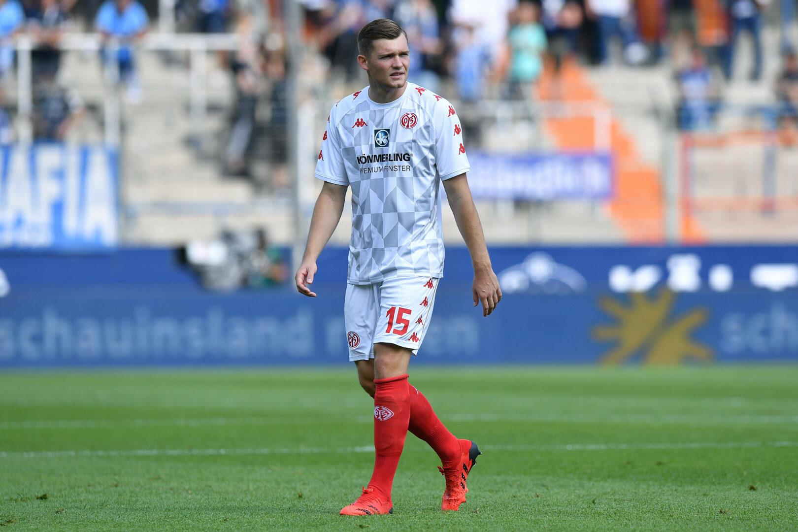 Kilian (Mainz 05) gegen den VfL Bochum
