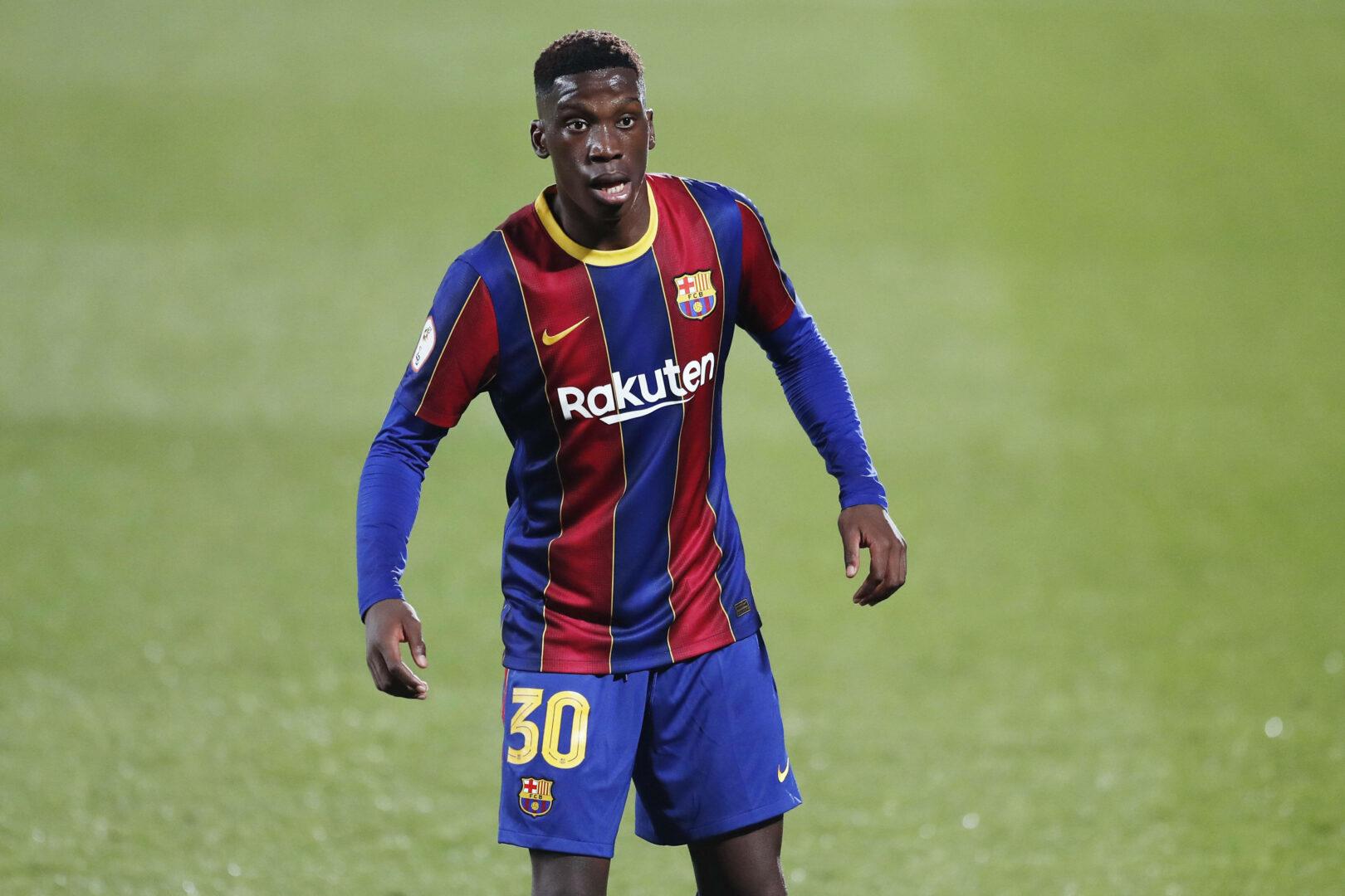 Ilaix Moriba (FC Barcelona) in der LaLiga