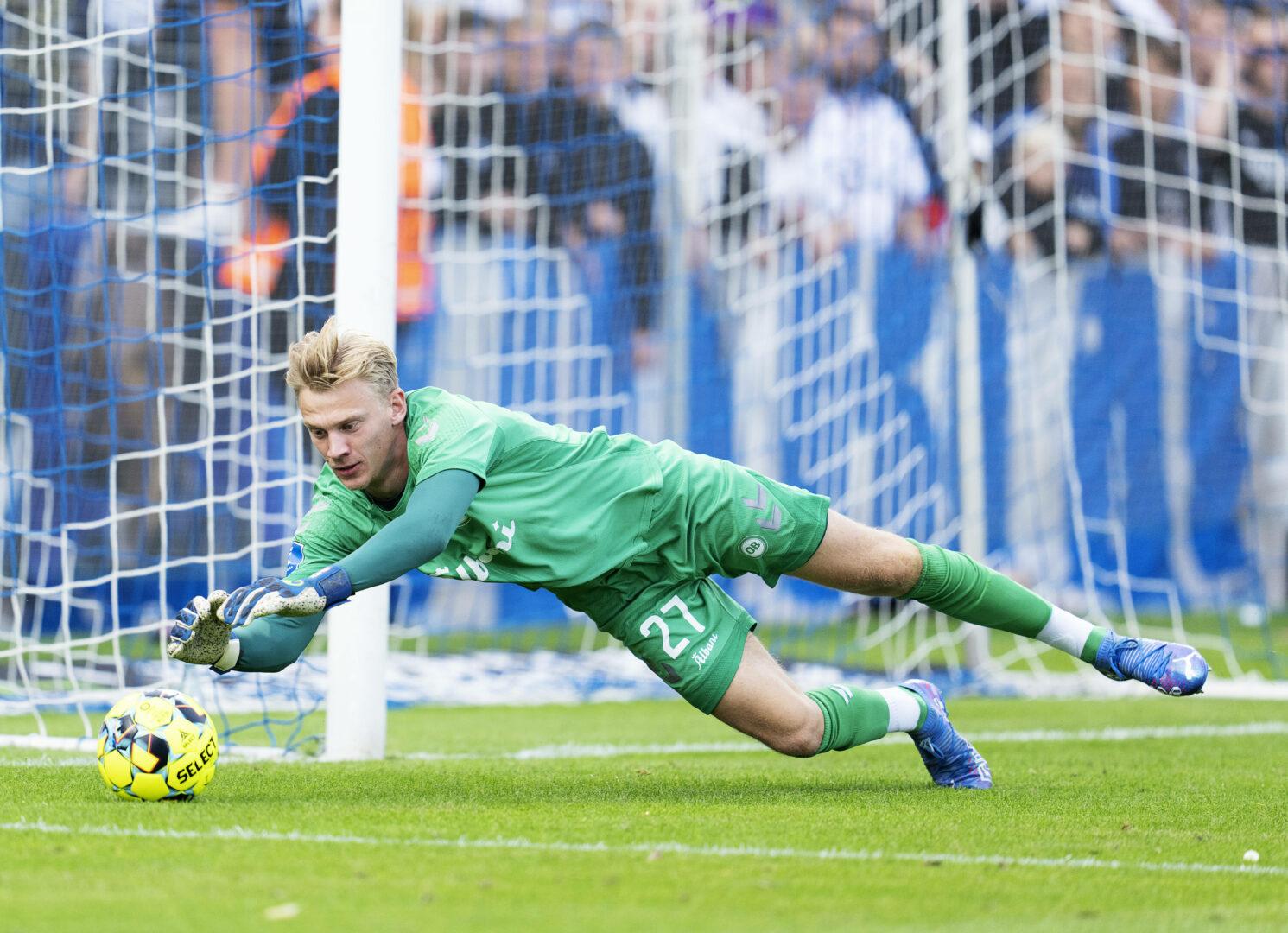 Oliver Christensen hütete bislang das Tor von Odense BK.