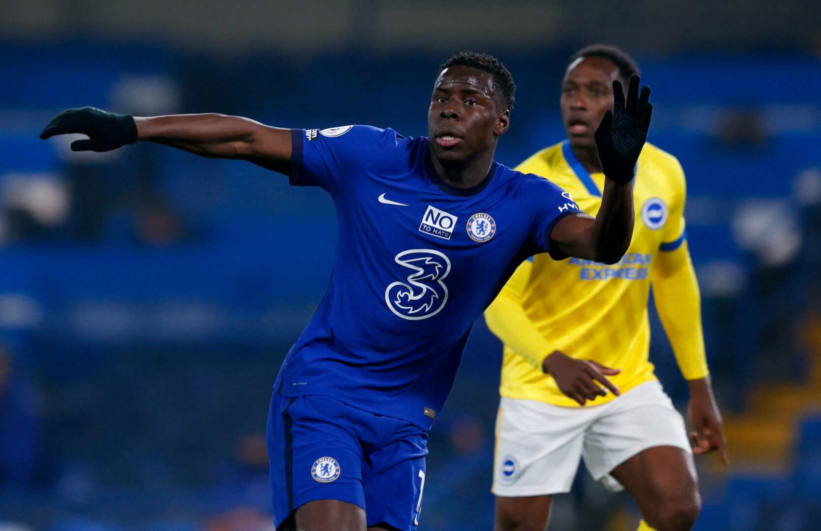 Chelseas Kurt Zouma im Spiel gegen Brighton and Hove Albion