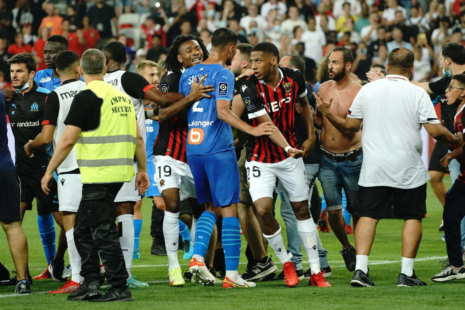 Nach Skandalspiel: Erste Strafen für Nizza und Marseille