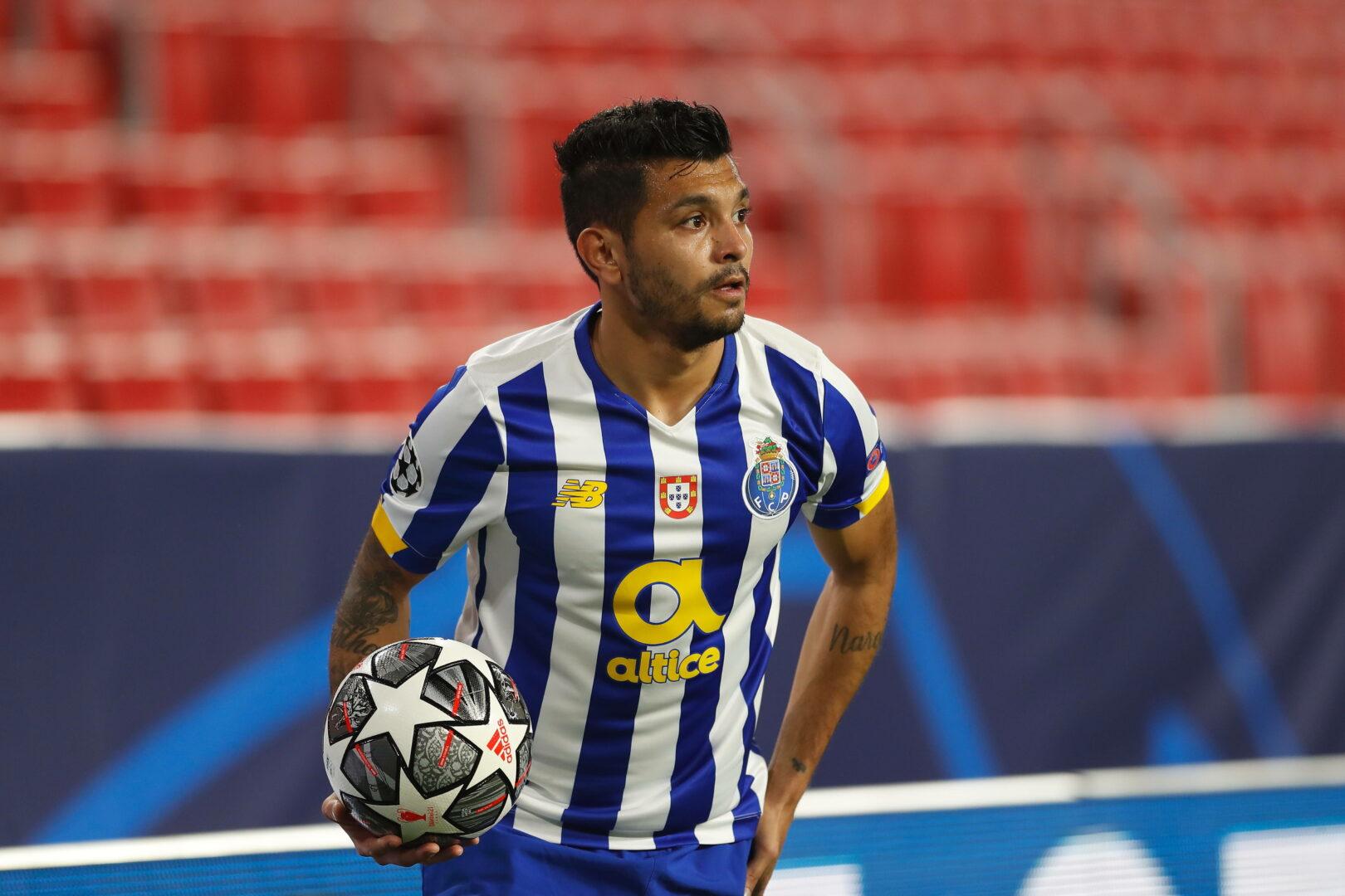 Jesús Corona (FC Porto) in der Champions League gegen den FC Chelsea