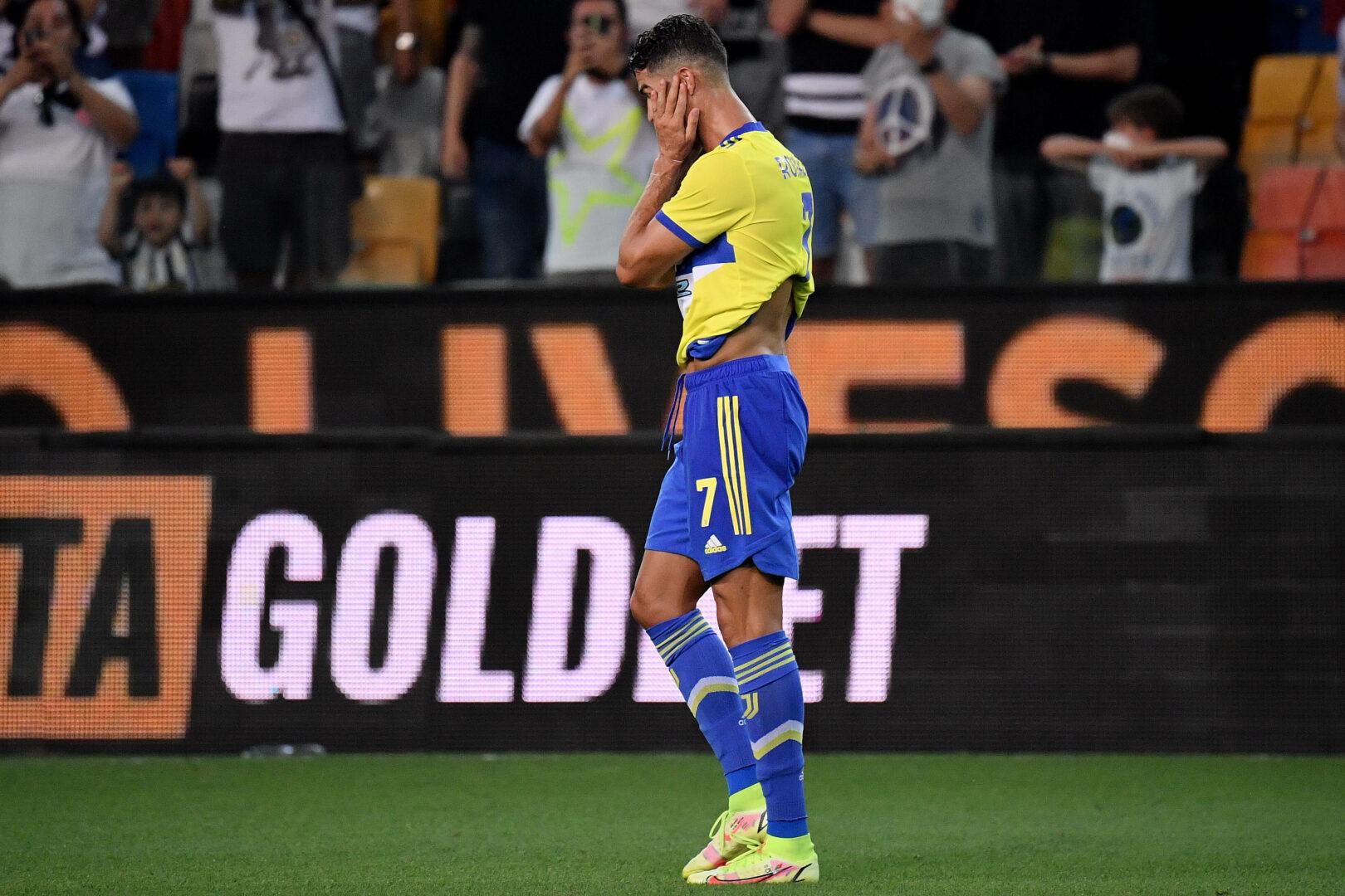 Cristiano Ronaldo (Juventus Turin) Tor wurde von VAR aberkannt