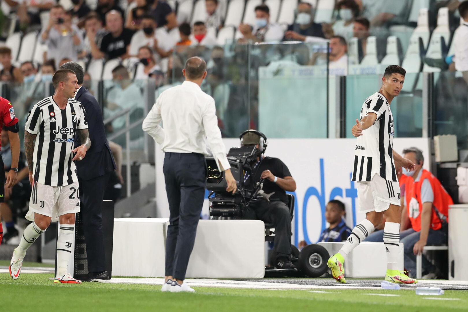 Allegri und Ronaldo