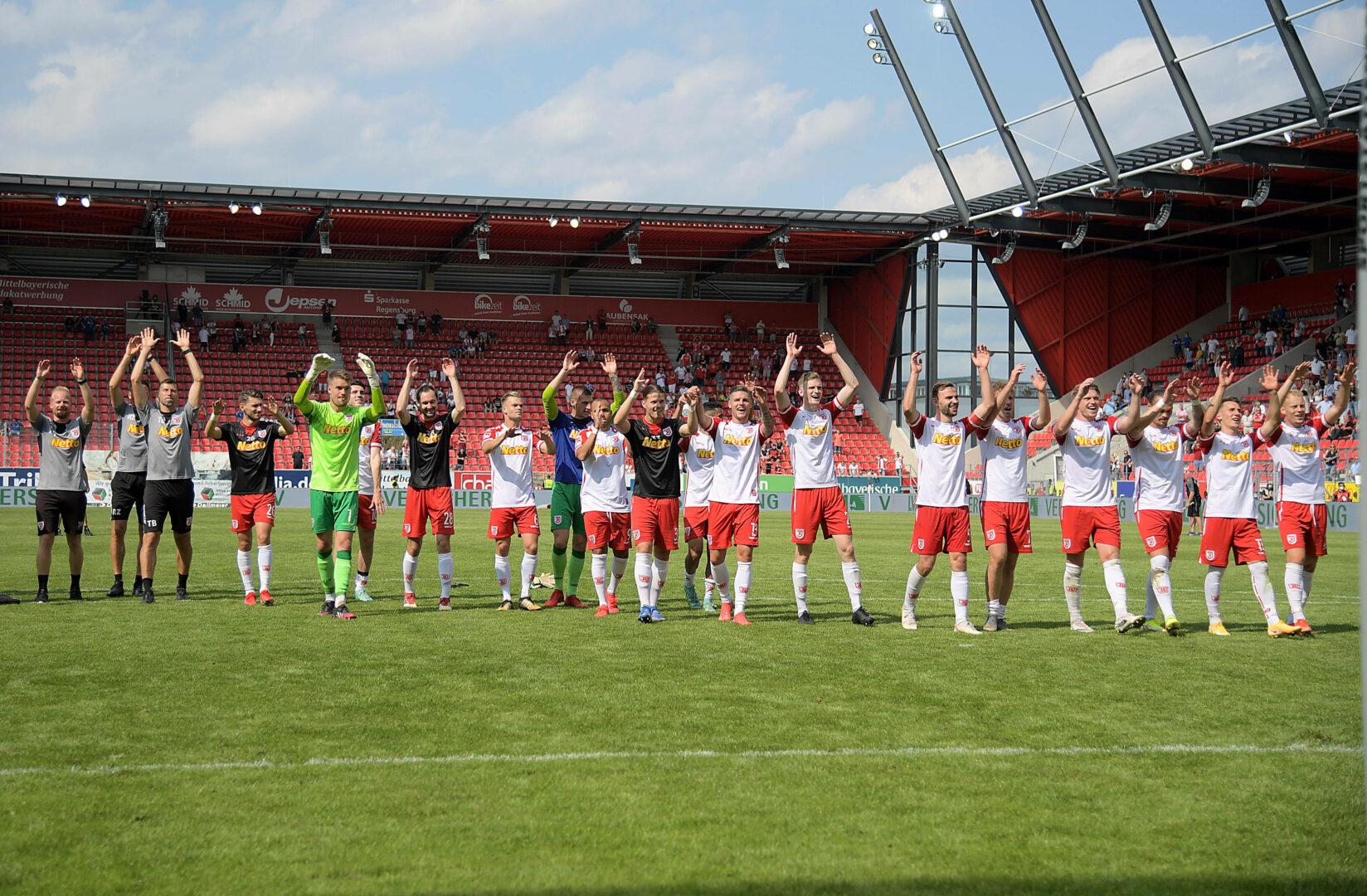 Plötzlich in aller Munde: Jahn Regenburg erobert die 2. Bundesliga