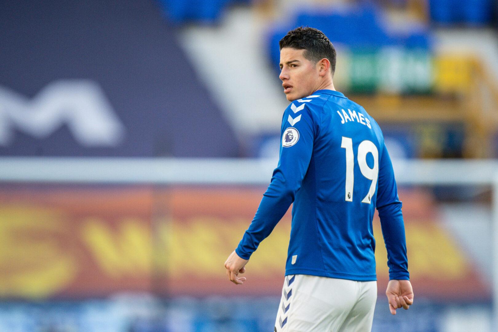 James Rodriguez lief für den FC Everton im Heimspiel gegen Crystal Palace auf. Weitere Einsätze werden wohl nicht mehr hinzugefügt.
