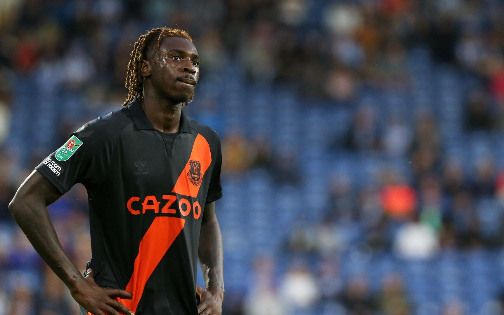Moise Kean vom FC Everton steht vor einer Rückkehr zu Juventus