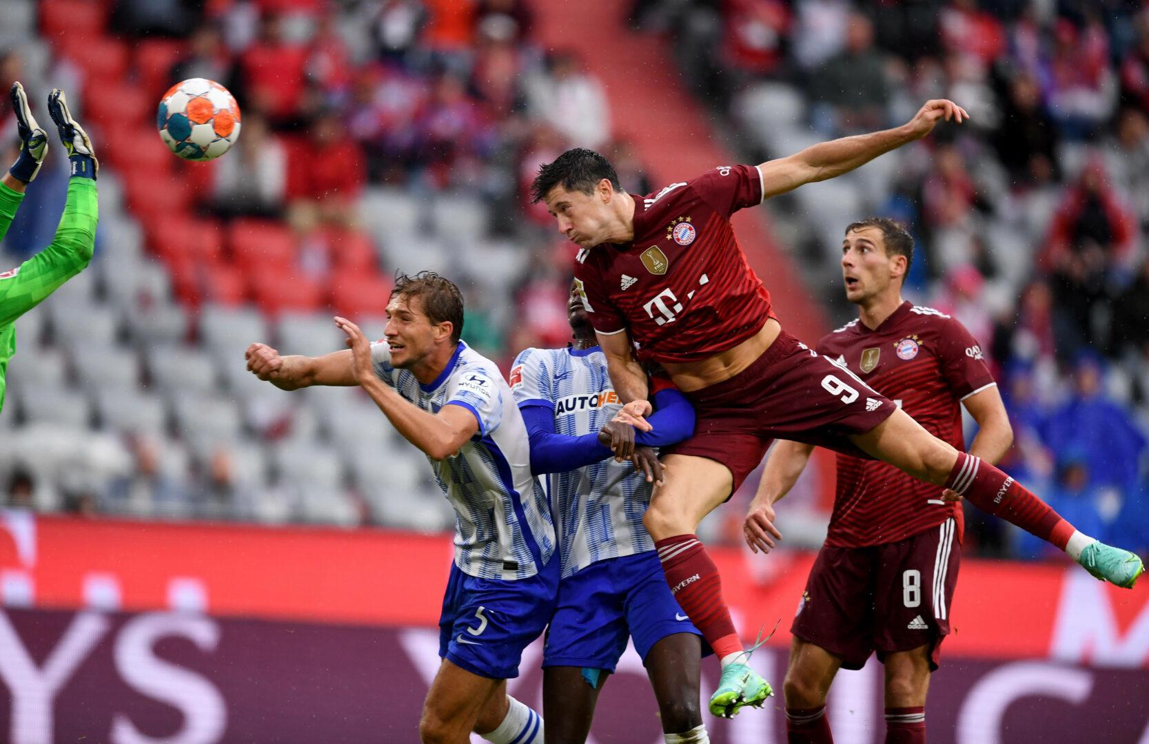 Lewandowski trifft für den FC Bayern