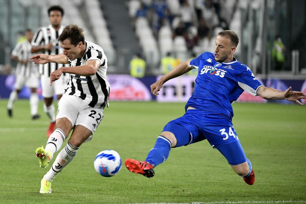 Juventus gegen Empoli