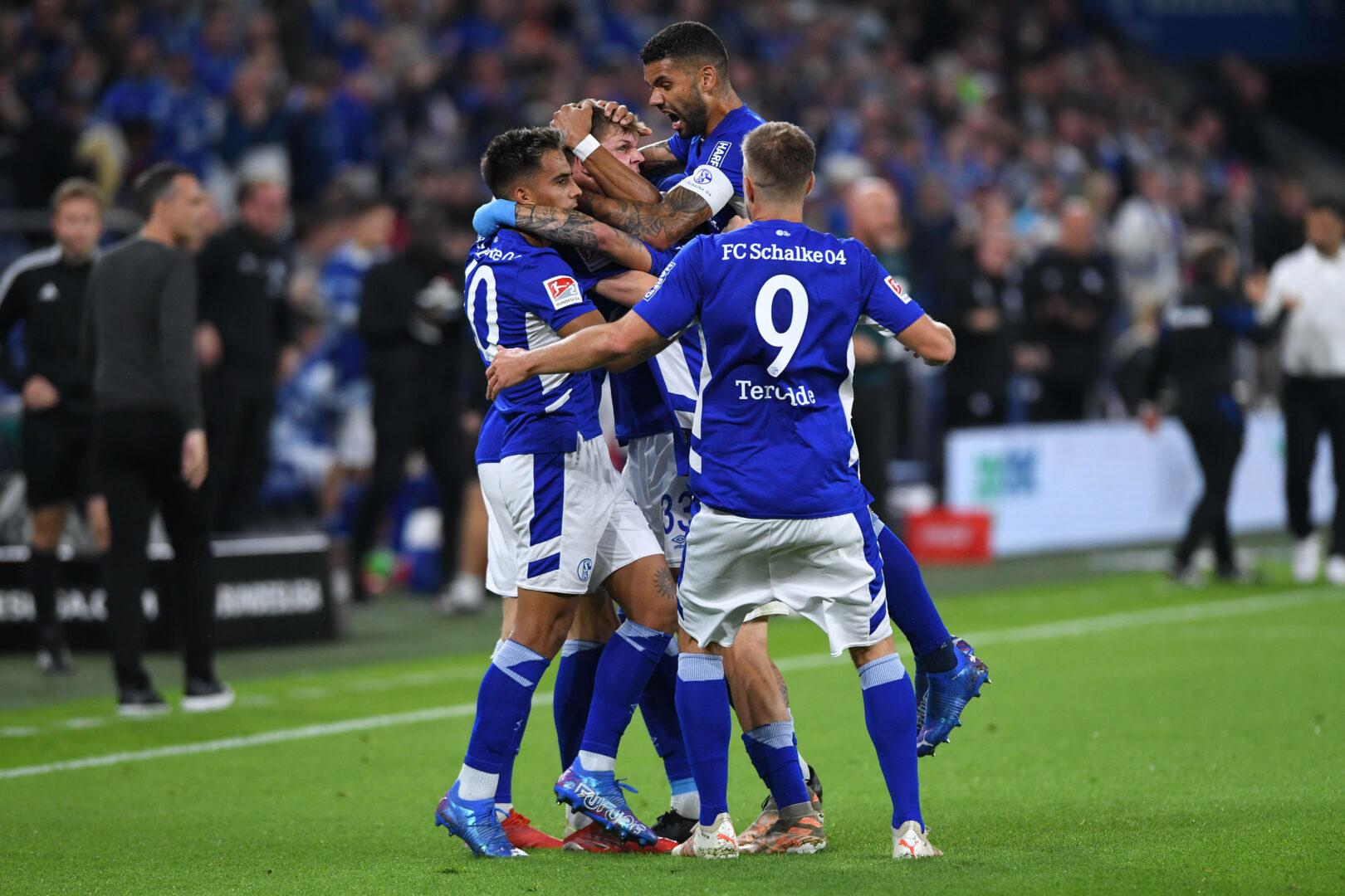 Der FC Schalke 04 hatte im Heimspiel gegen Fortuna Düsseldorf Grund zum Jubeln.