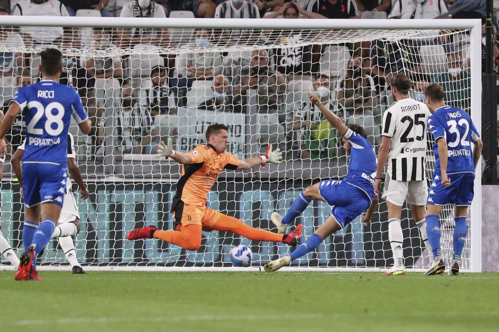 empoli trifft gegen Juventus