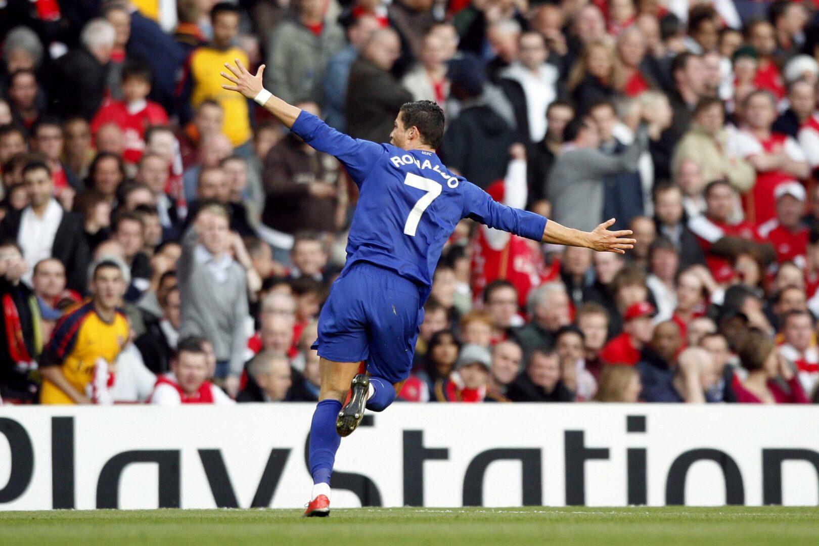 Ronaldo 2009 bei Manchester United