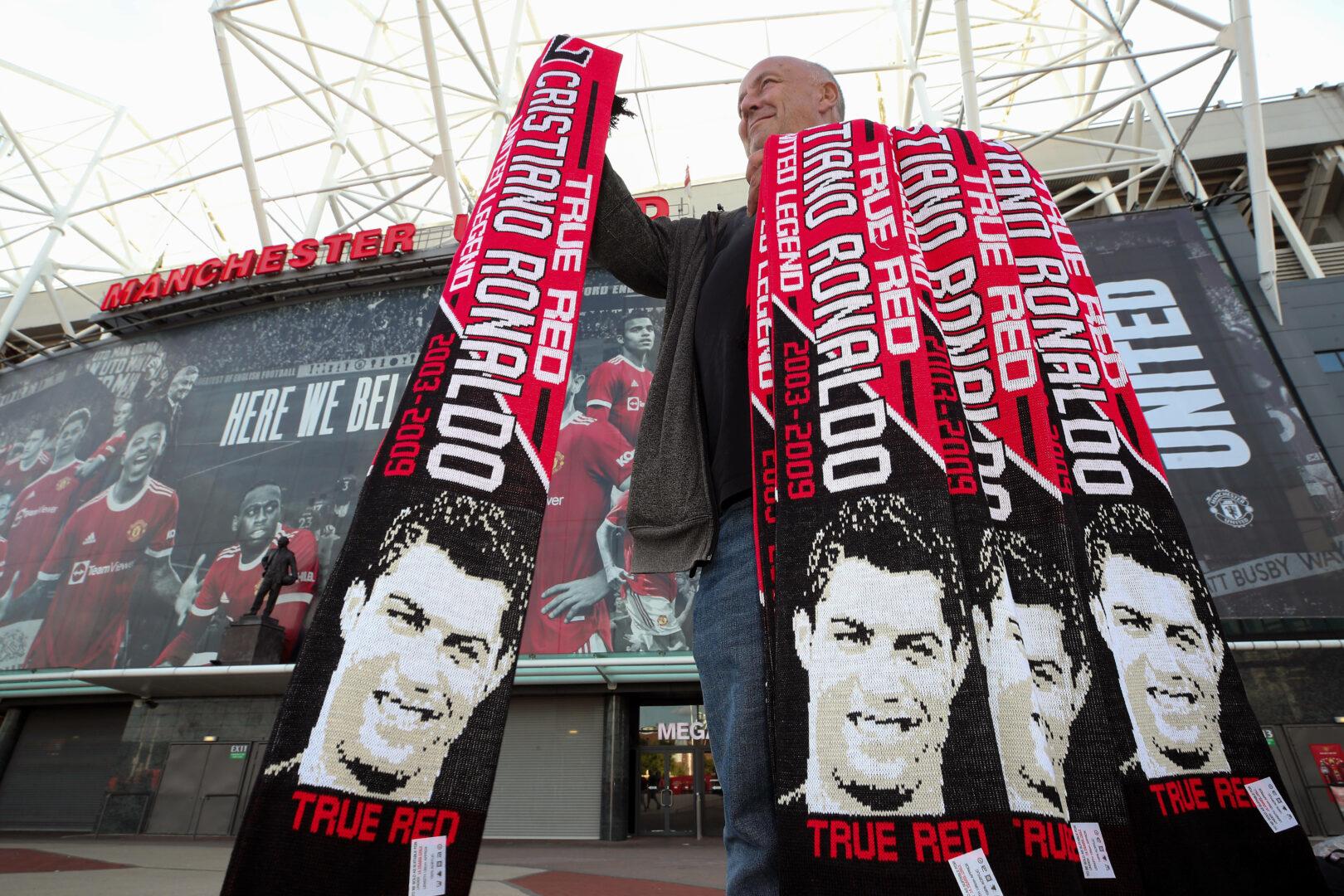 Ronaldo-Schals sind bei Manchester United ein Kassenschlager