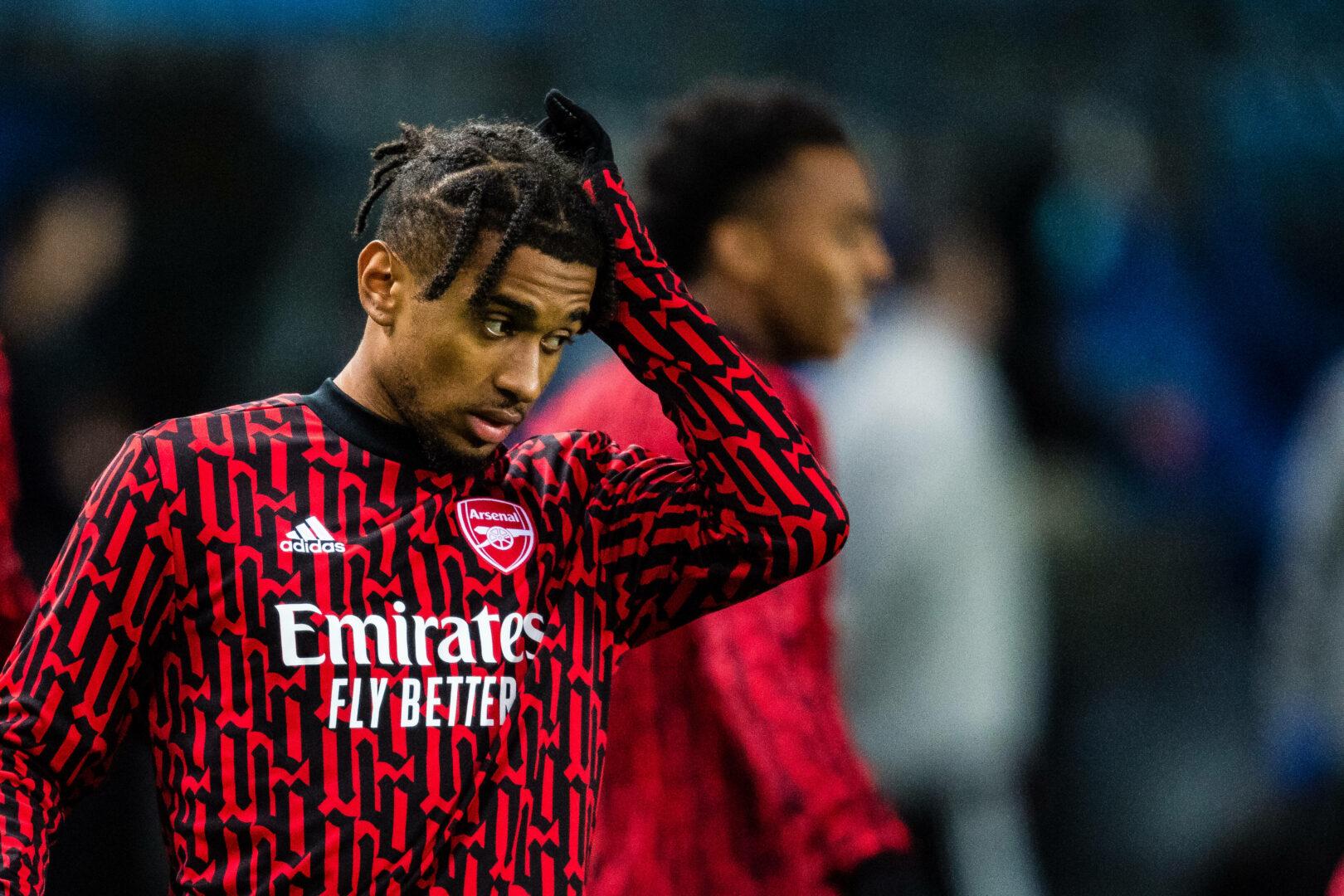 Nelson im Dress des FC Arsenal