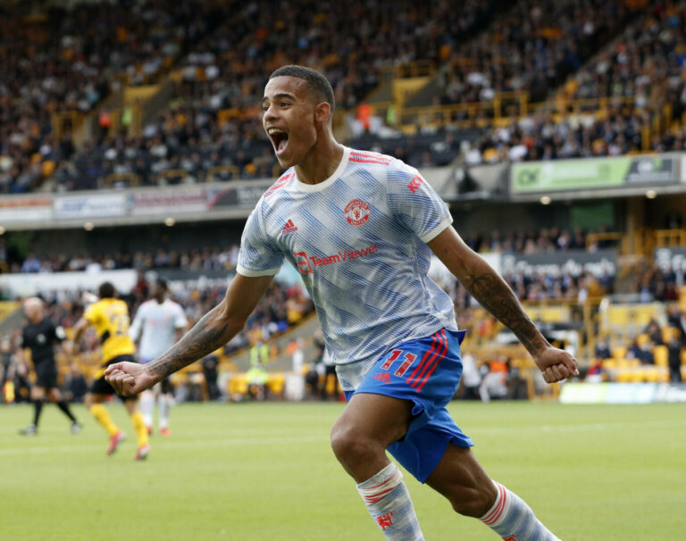 Beim Debüt von Varane: Greenwood rettet schwaches United bei den Wolves