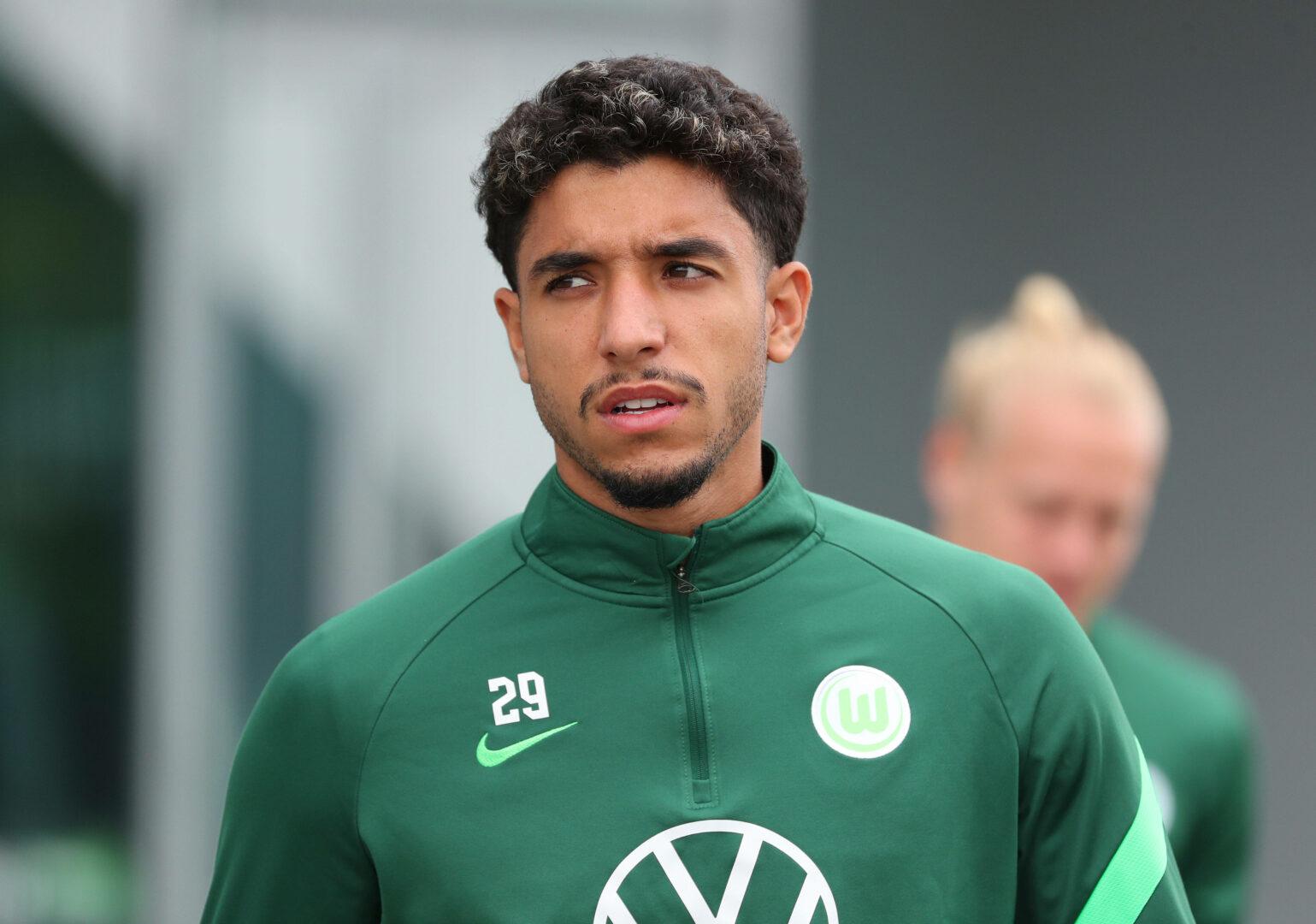 Marmoush (Wolfsburg) im Training