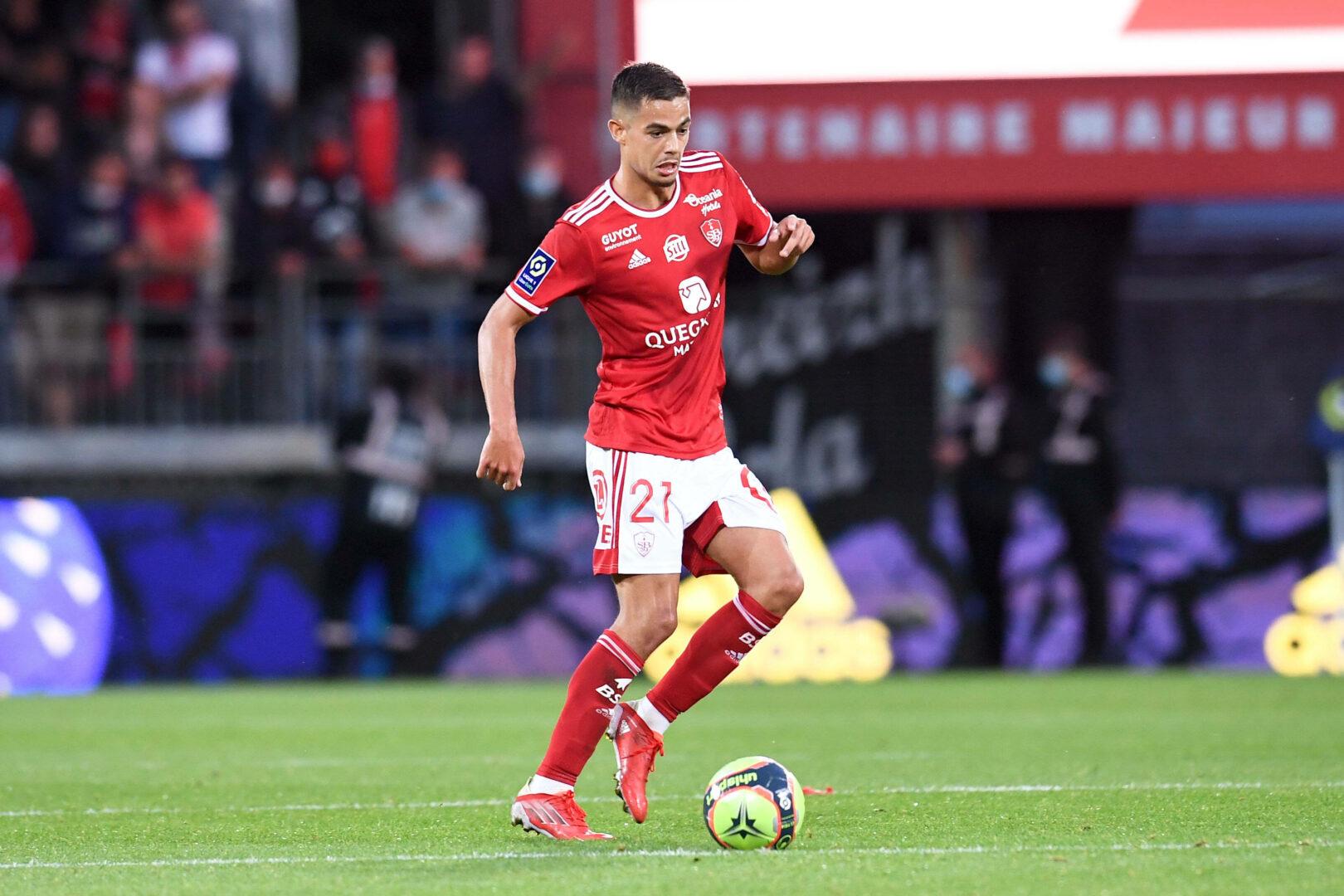 Romain Faivre (Stade Brest) gegen PSG
