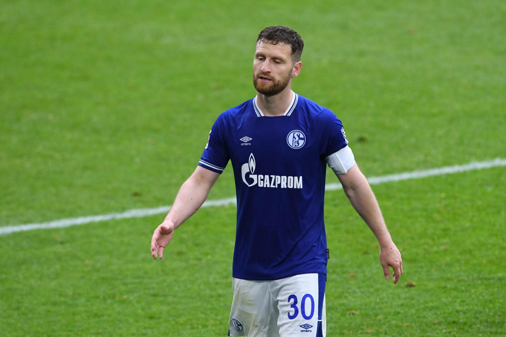 Shkodran Mustafi im Trikot von Schalke 04