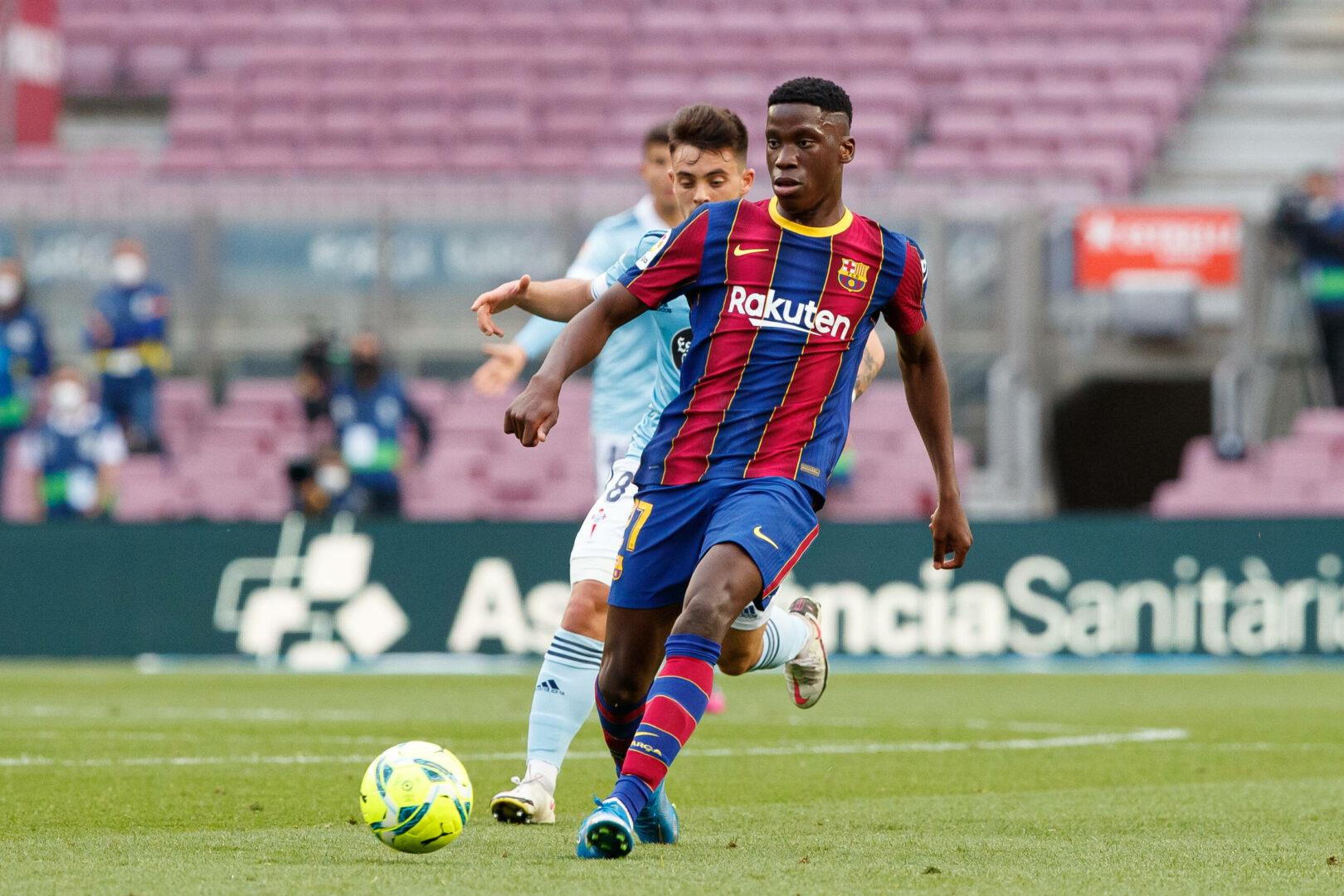 Ilaix Moriba vom FC Barcelona steht vor einem Wechsel nach Leipzig