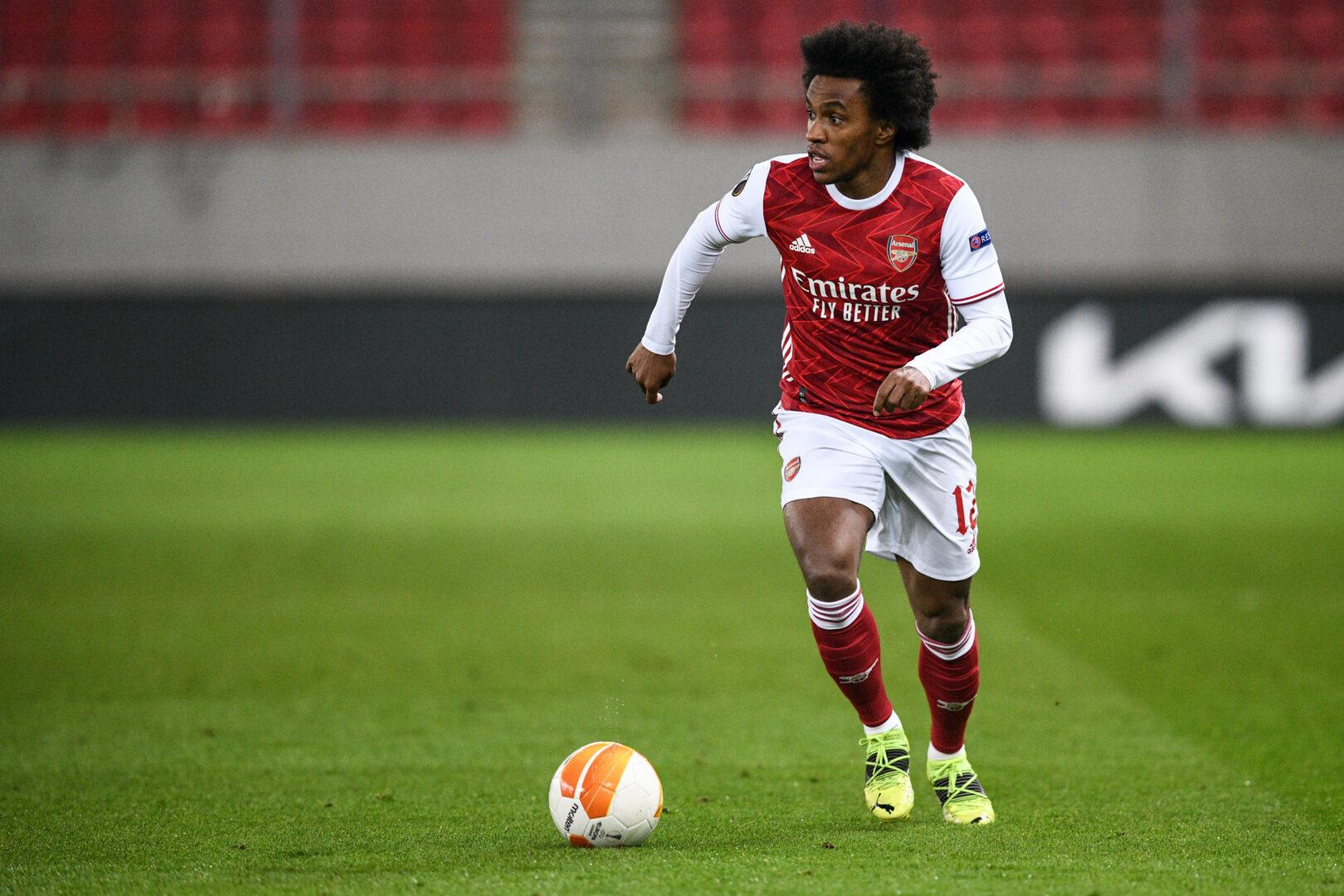 Willian im Trikot des FC Arsenal